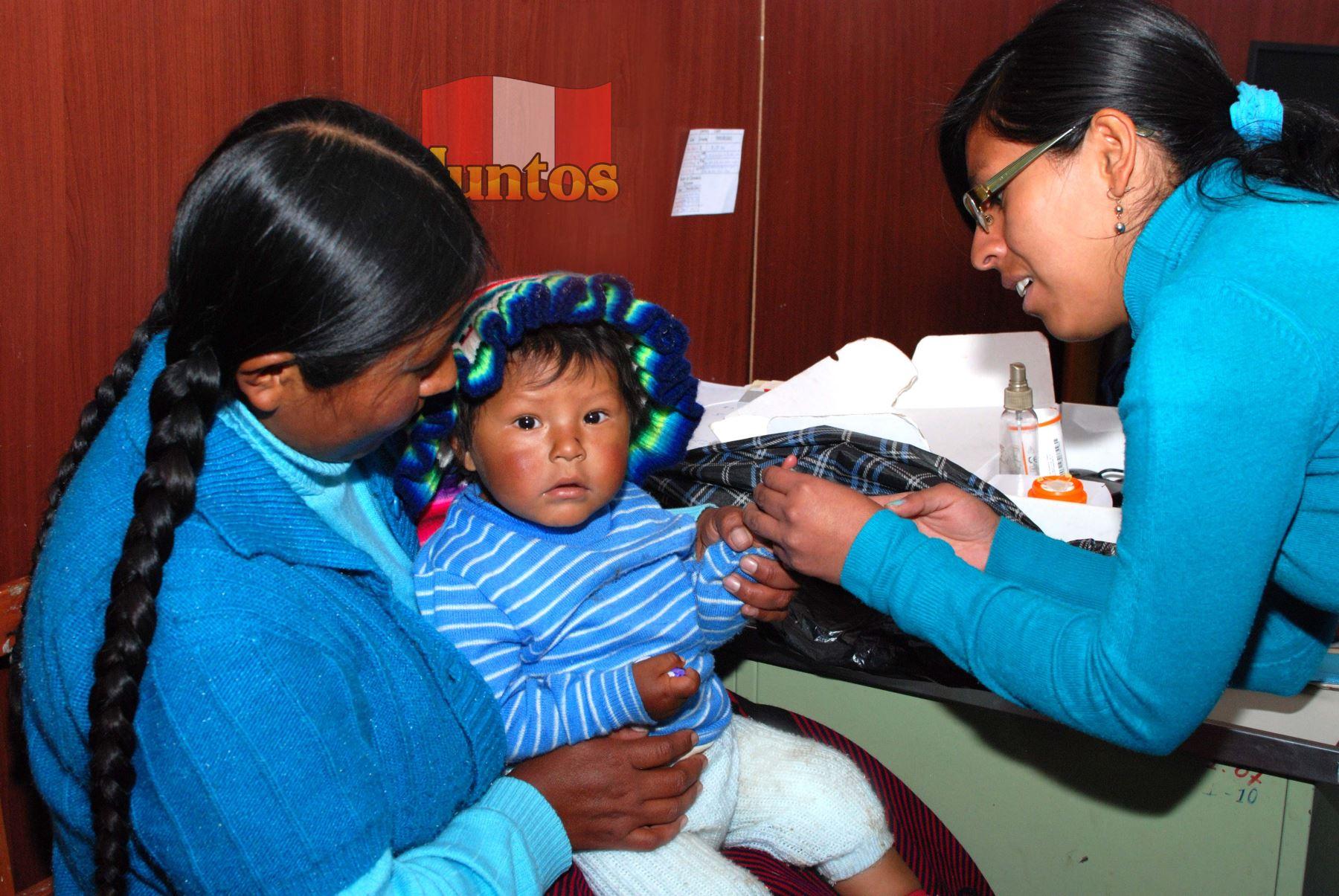 Siete de cada 10 niños de hogares de Juntos están libres de anemia, destaca programa social.