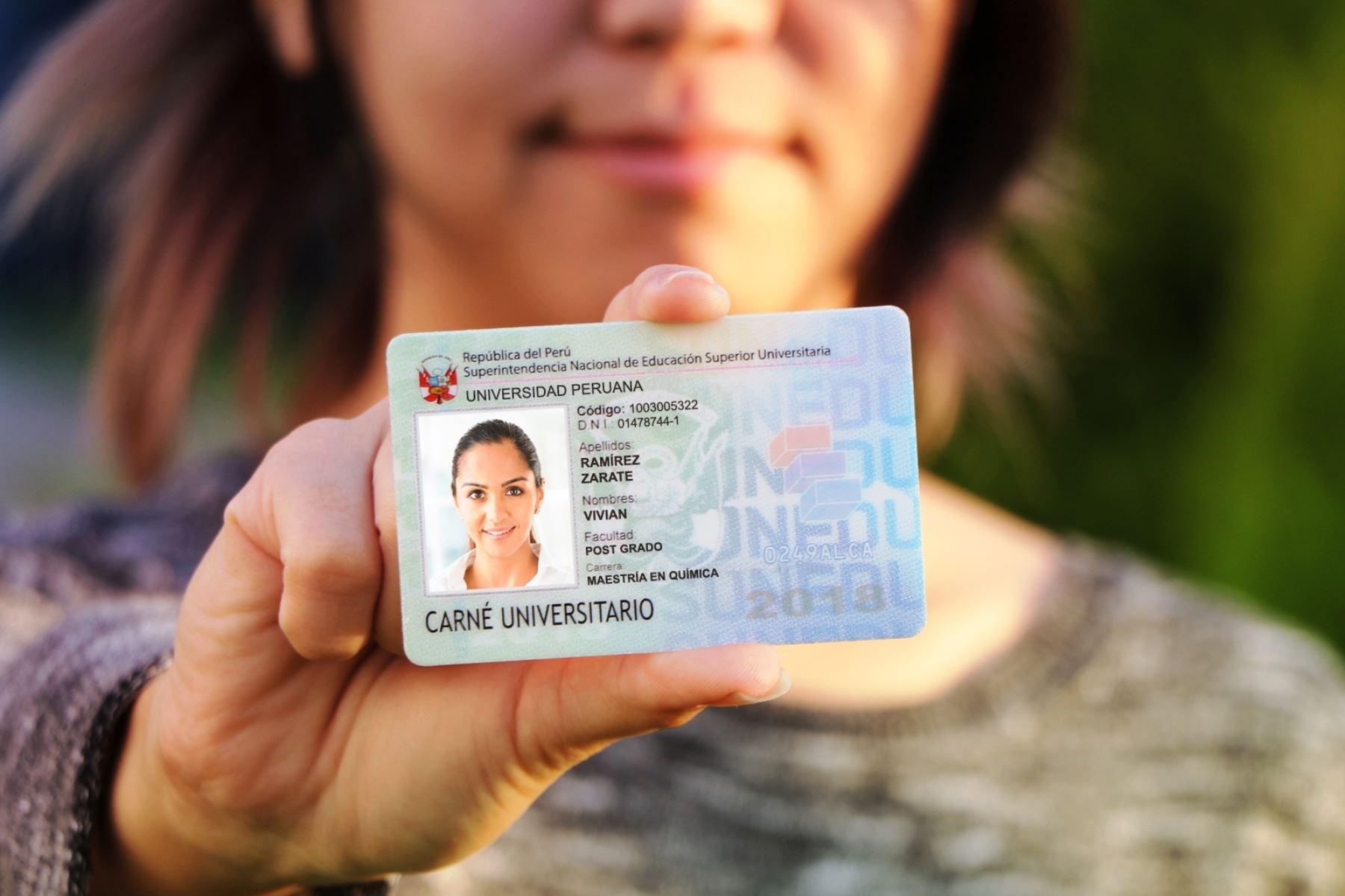 Sunedu priorizará emisión de carné universitario para cachimbos. Foto: ANDINA/Difusión.