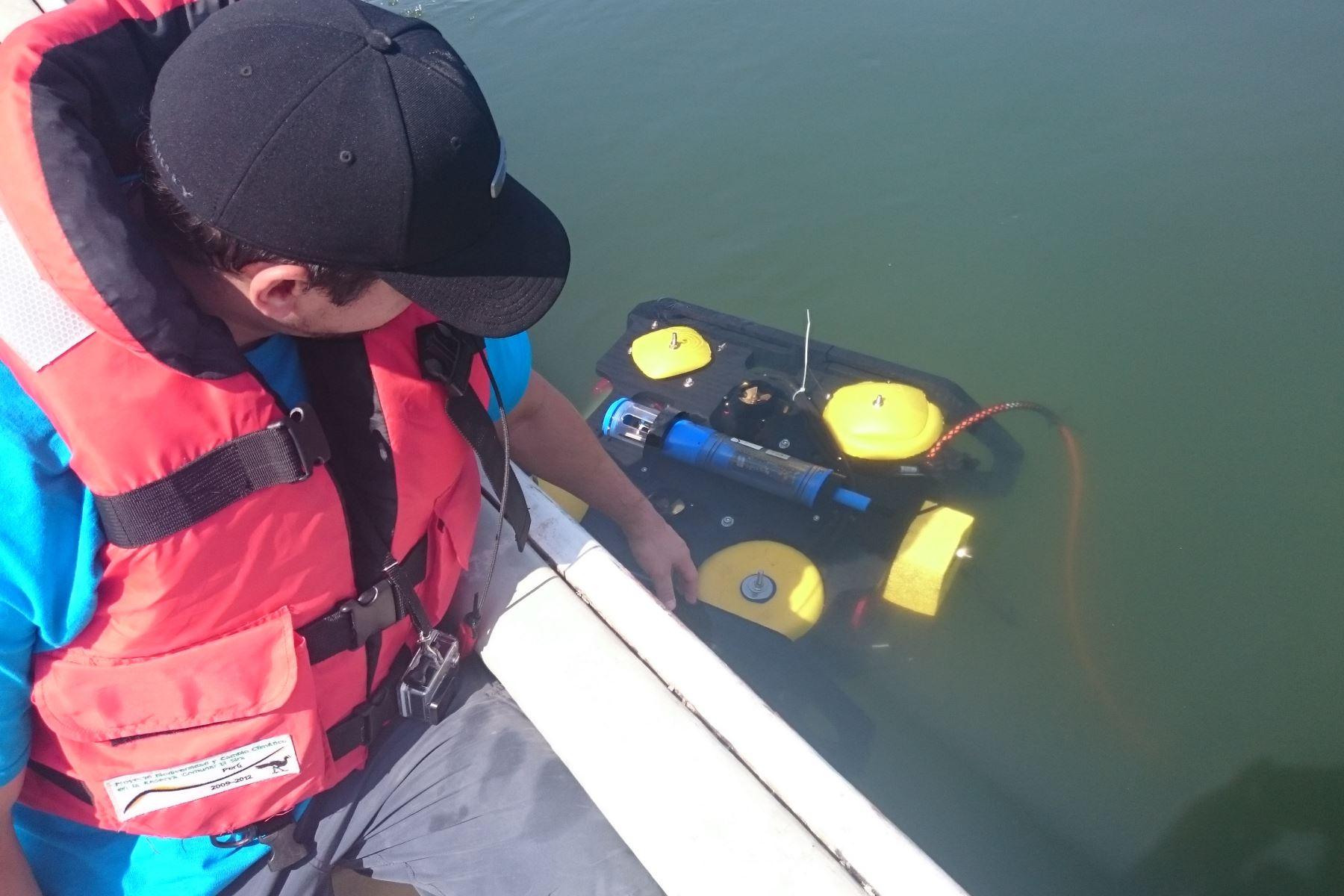 Primeros robots submarinos ya brindan servicios a las industrias. (Foto:PUCP)