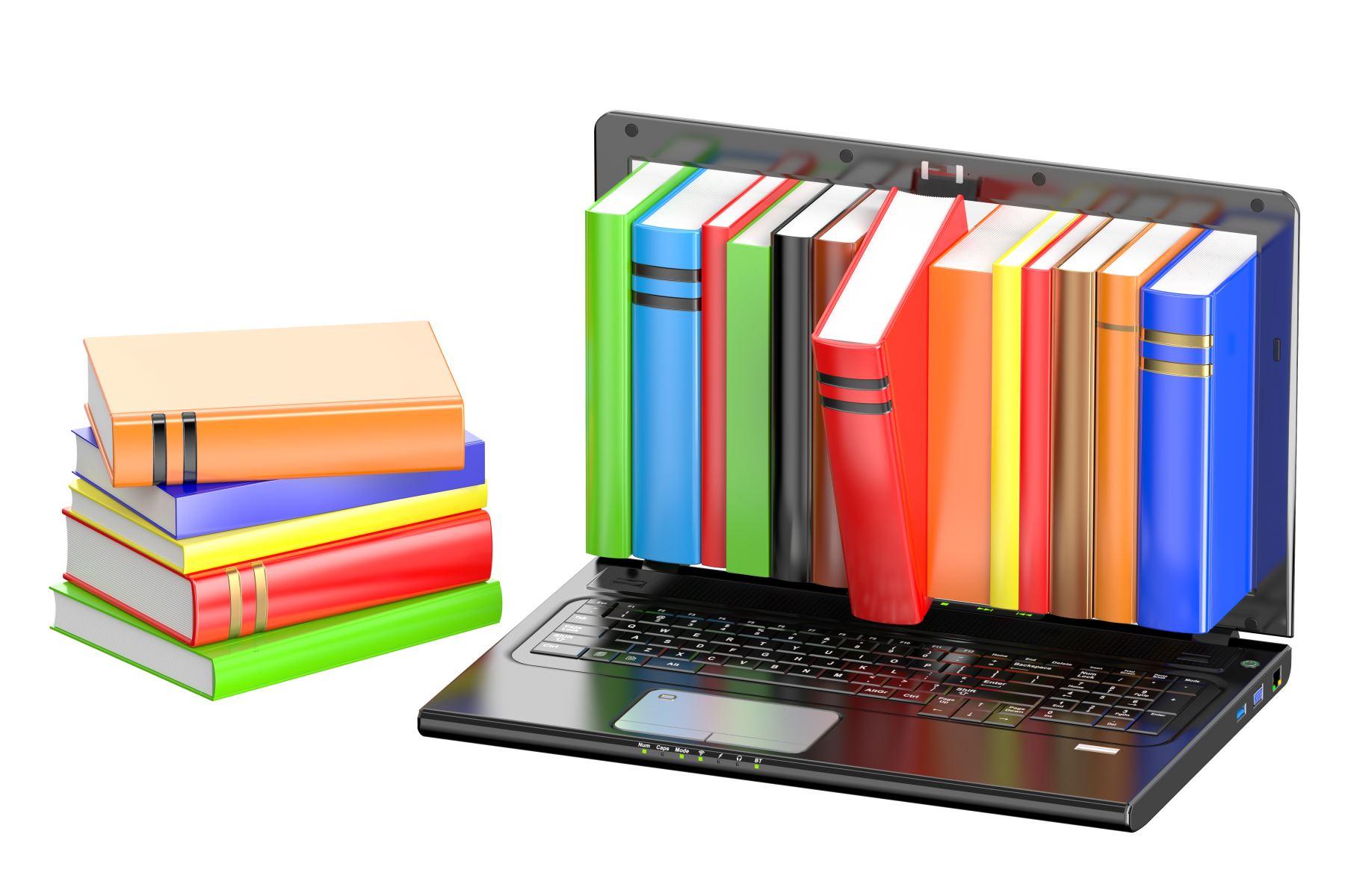 Biblioteca digital. Foto: INTERNET/Medios