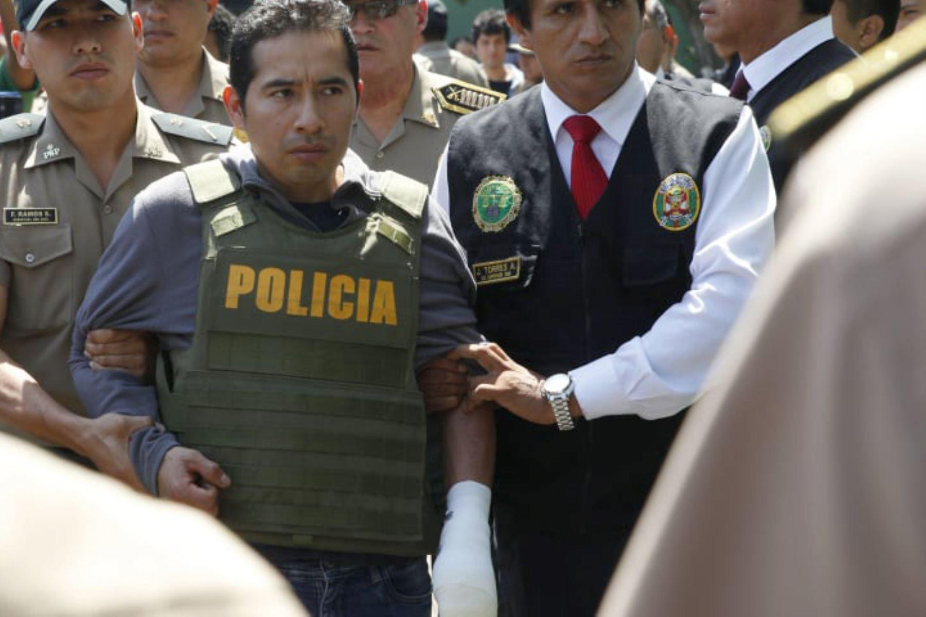 Al fin confesó su crimen Carlos Javier Agreda. Foto: ANDINA/Dante Zegarra