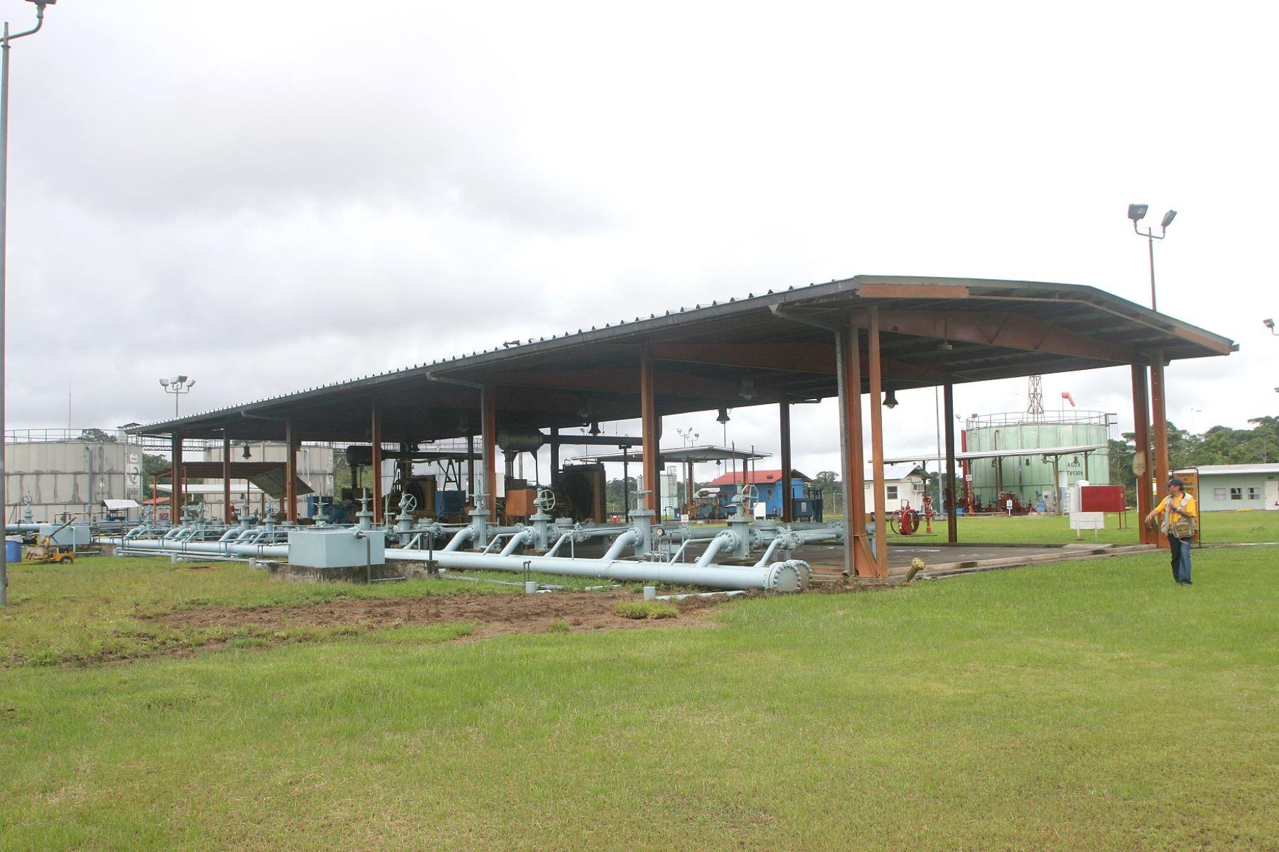 Instalaciones del Oleoducto Nor Peruano, ubicadas en el distrito de Morona, provincia loretana de Datem del Marañón. ANDINA/Difusión
