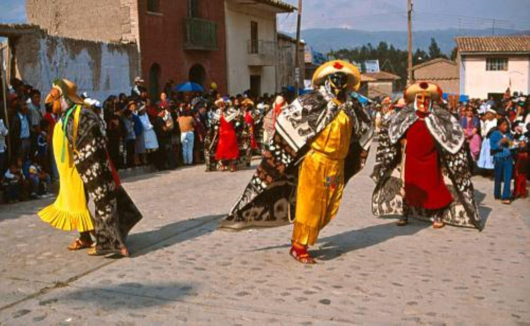 Huaconada de Mito: conoce la danza que castiga a las malas autoridades. ANDINA/Difusión