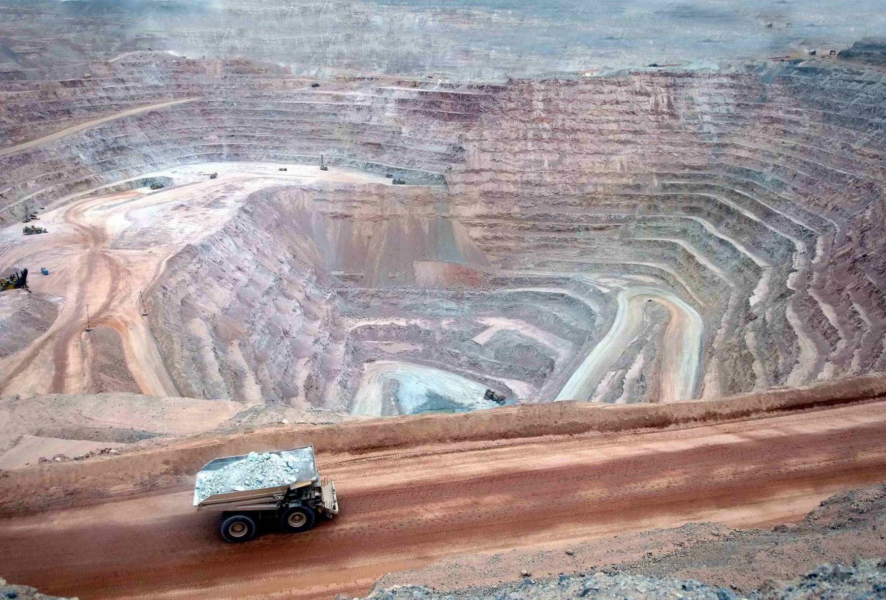 Actividad minera. ANDINA
