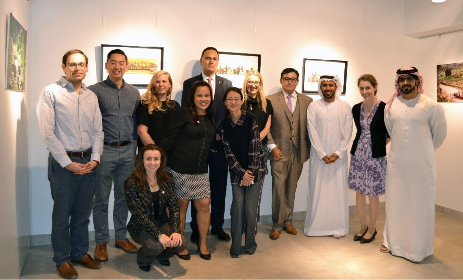 Exposición en Dubai Foto: ANDINA/Difusión