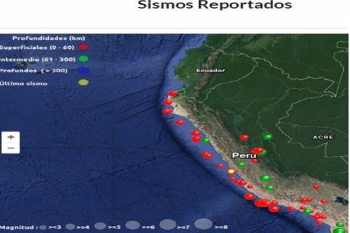 El fuerte sismo ocurrido en la víspera en el distrito de Mala, provincia de Cañete, y que se sintió con intensidad en Lima y otras provincias vecinas, forma parte de los 39 eventos telúricos de gran magnitud reportados en varias regiones del país en lo que va del siglo XXI.  ANDINA/Difusión