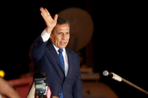 Ollanta Humala quiere volver a ser Presidente de la República. ANDINA/Jhony Laurente