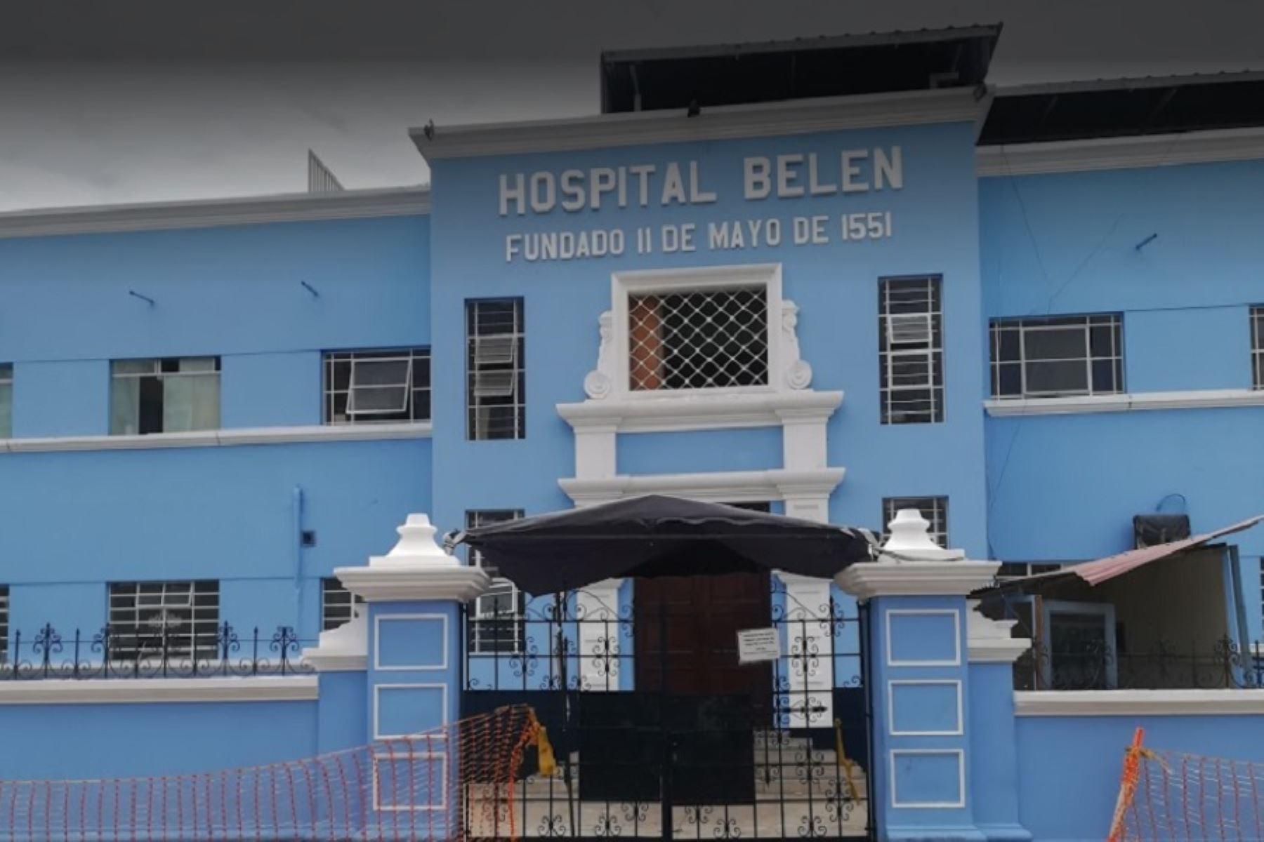 El hospital Belén de Trujillo atiende el mayor número de casos del Síndrome de Guillain-Barré reportados en Trujillo. ANDINA/Difusión