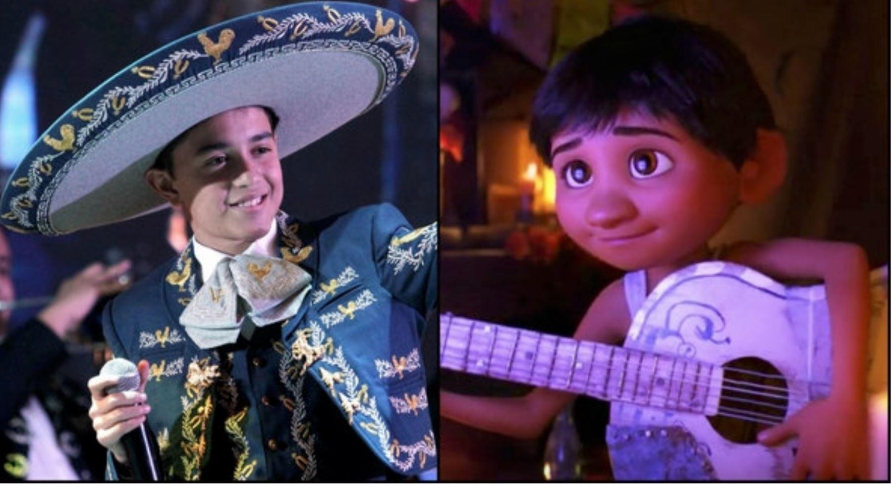 """Luis Ángel Gómez Jaramillo, el niño que le dio la voz a Miguel Rivera, protagonista de la cinta de Pixar """"Coco"""", nos visita en Lima."""