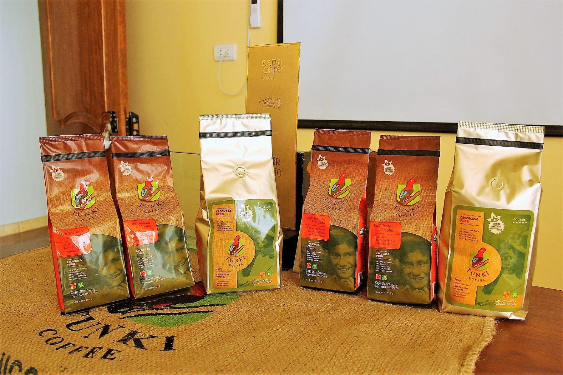 Estos son los cafés especiales que exporta Puno a Europa y EE UU. ANDINA