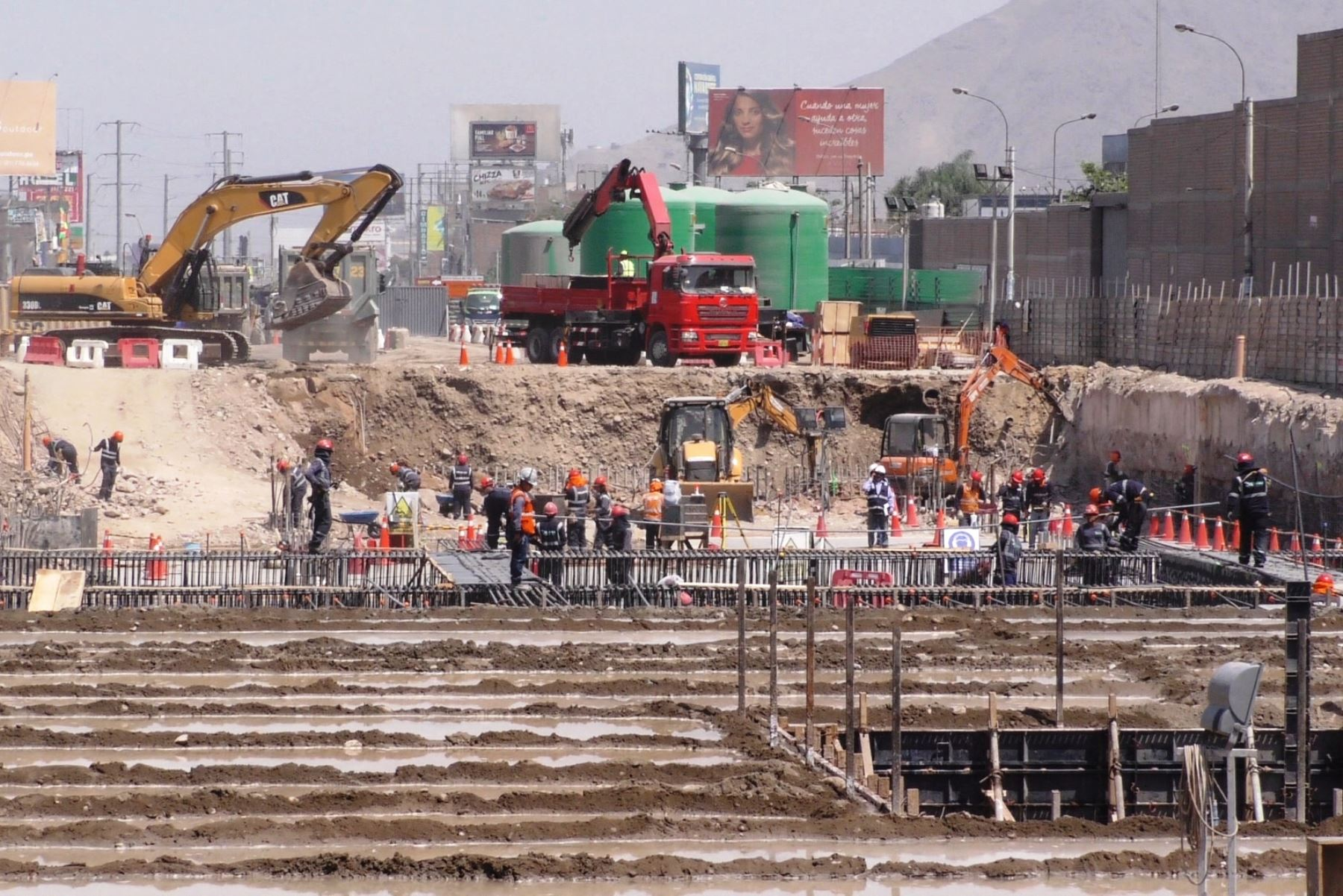 Culminan obras en dos estaciones de la Línea 2 del Metro de Lima. Foto: ANDINA/Difusión.