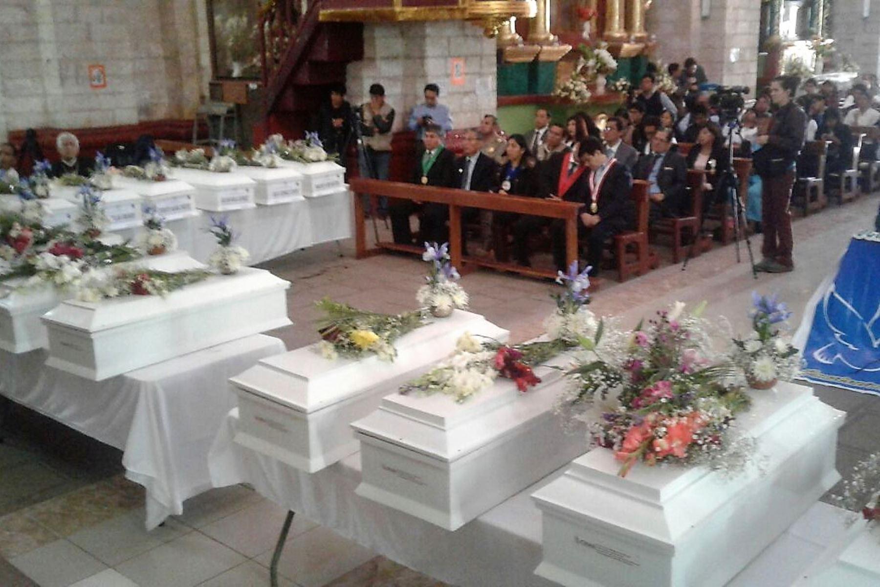Hoy entregan restos óseos de 14 víctimas del terrorismo en Apurímac. ANDINA/Difusión