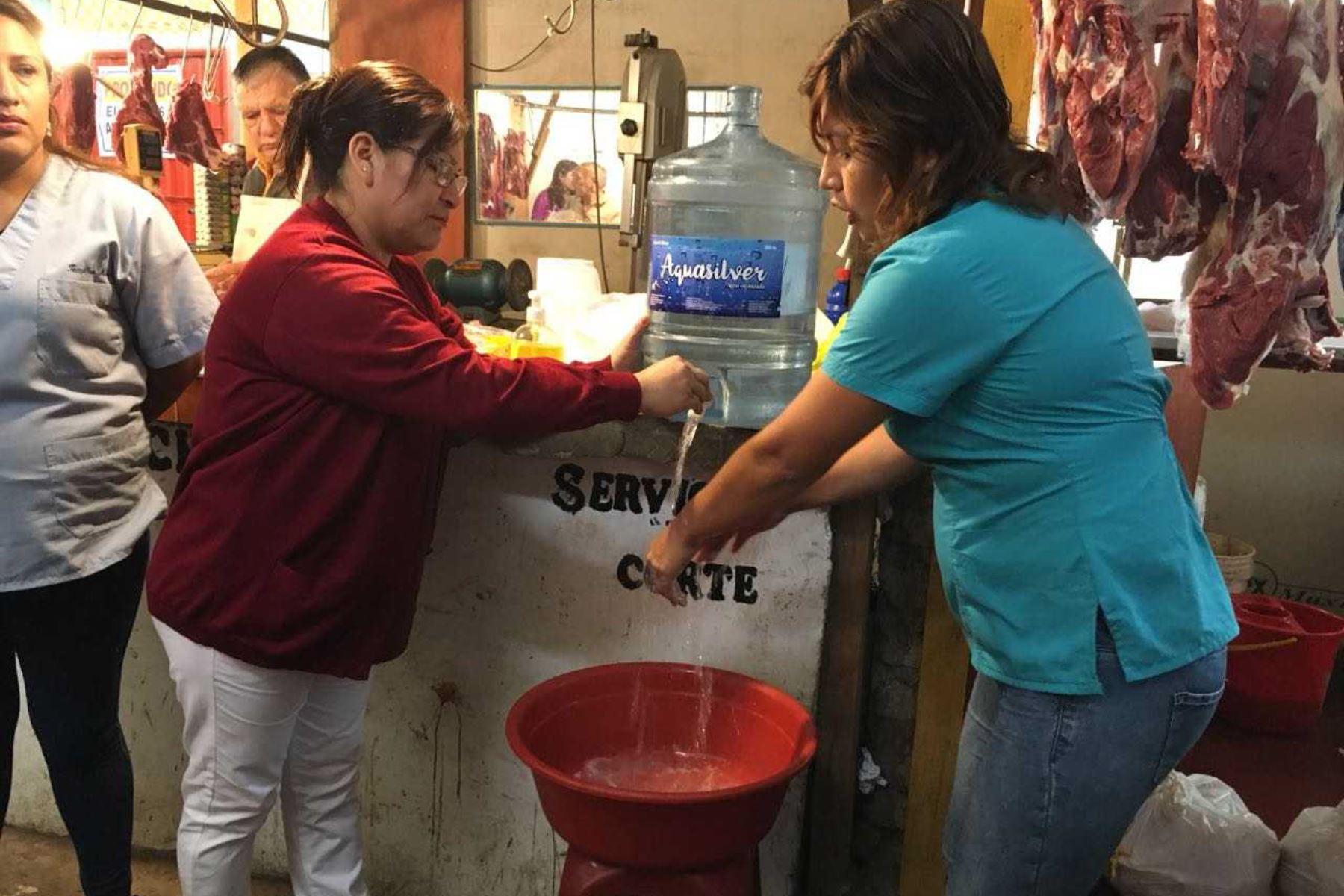 El lavado de manos es una de las medidas de prevención para evitaer contraer el síndrorme de Guillain-Barré. ANDINA/Difusión
