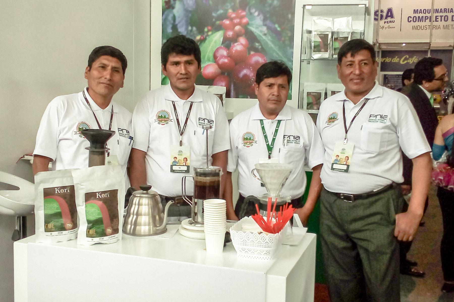 Productores de café de Puno van a la conquista del mercado de Rusia con primer envío de aromático grano. ANDINA/Difusión