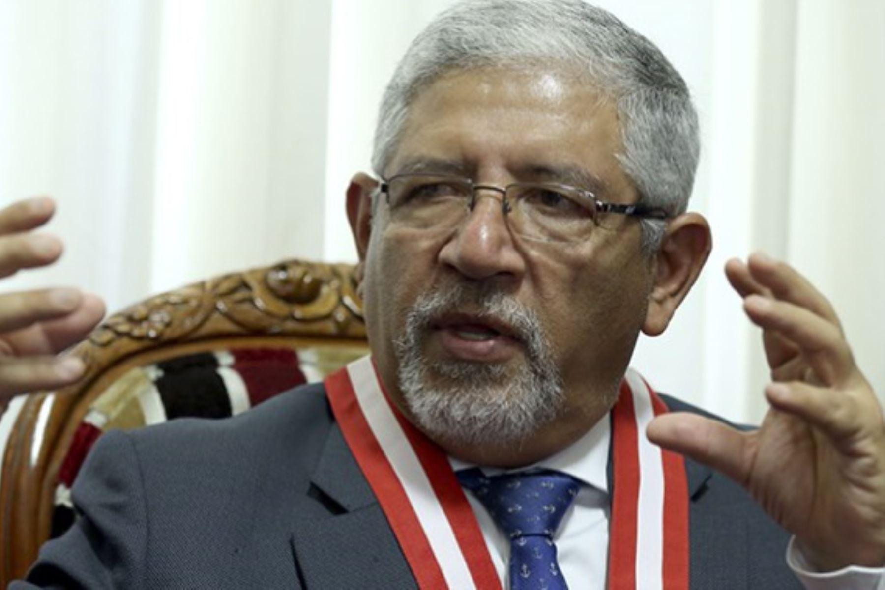 Héctor Lama More, presidente de la Comisión de Trabajo del expediente judicial electrónico (EJE). Foto: Archivo.