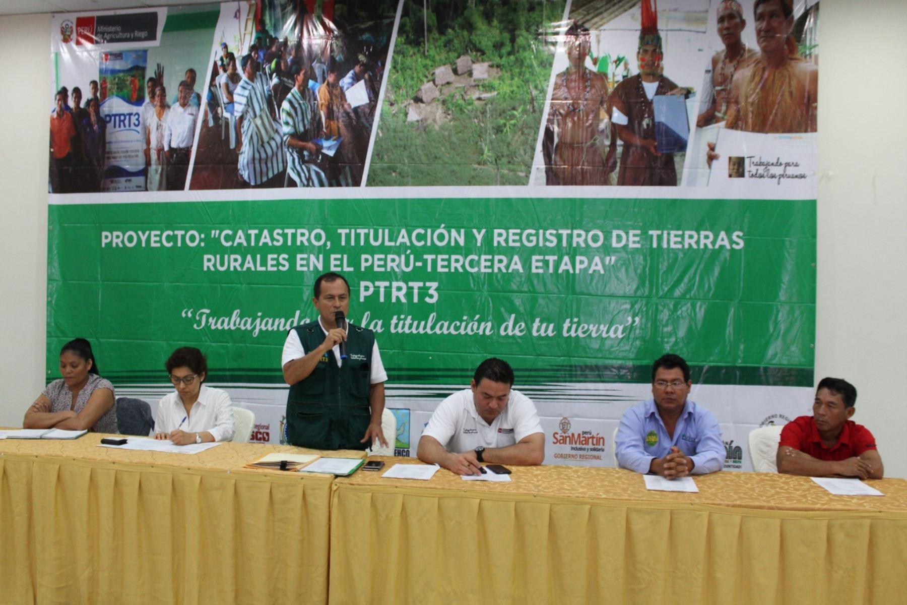 Minagri iniciará proyecto de titulación de comunidades indígenas de la región Loreto. ANDINA/Difusión