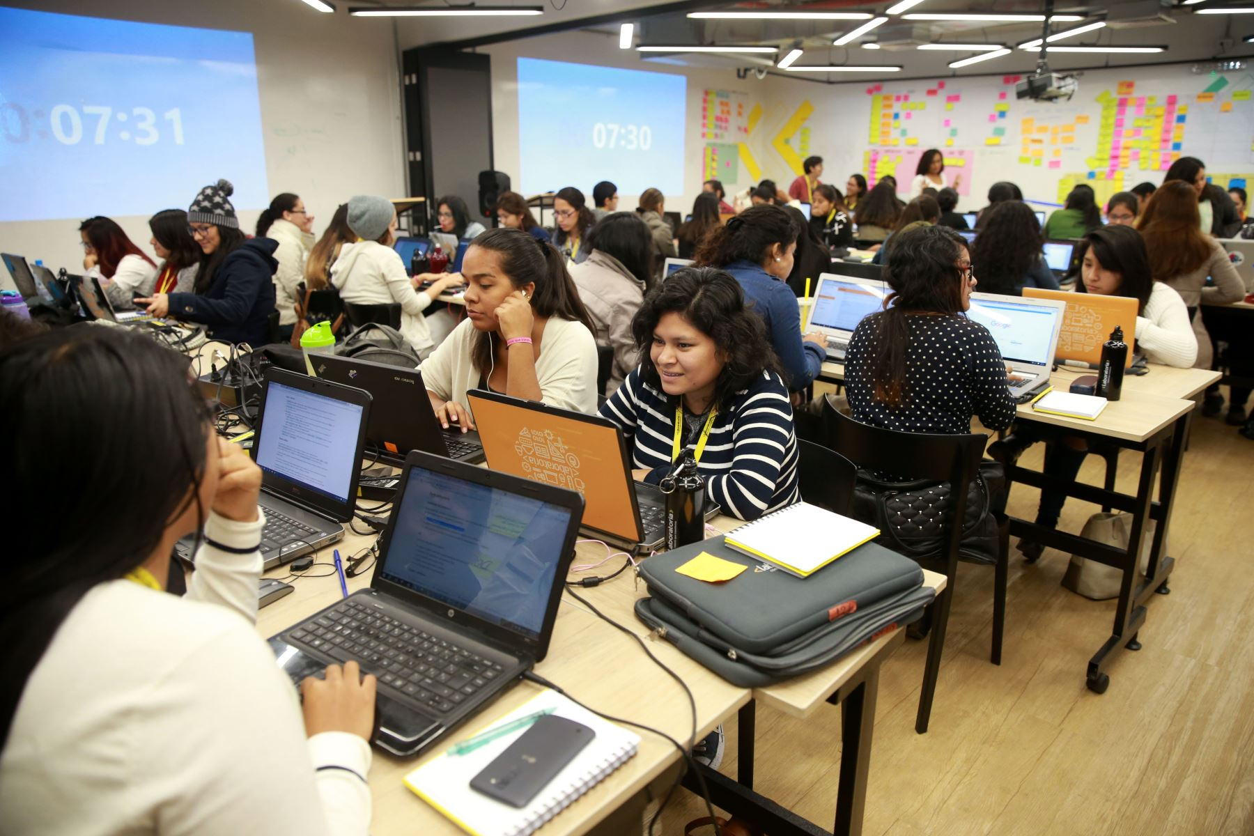 Laboratoria tiene sede en el distrito de BarrancoFoto:  ANDINA/Vidal Tarqui