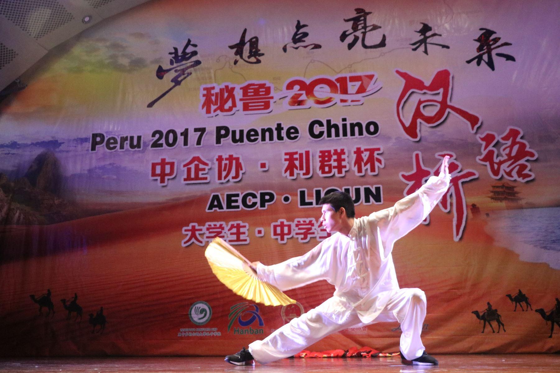 Muestra de cultura china.