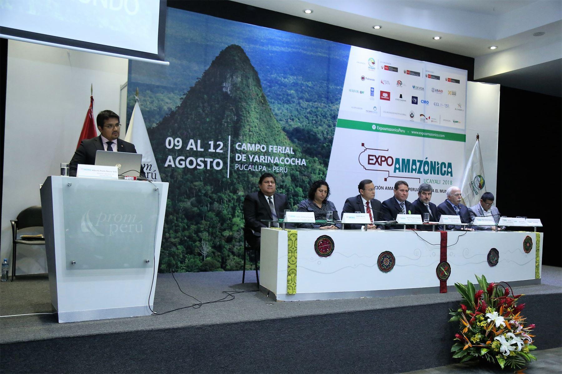 ProInversión promoverá las potencialidades de inversión de la selva en ExpoAmazónica. ANDINA/Difusión