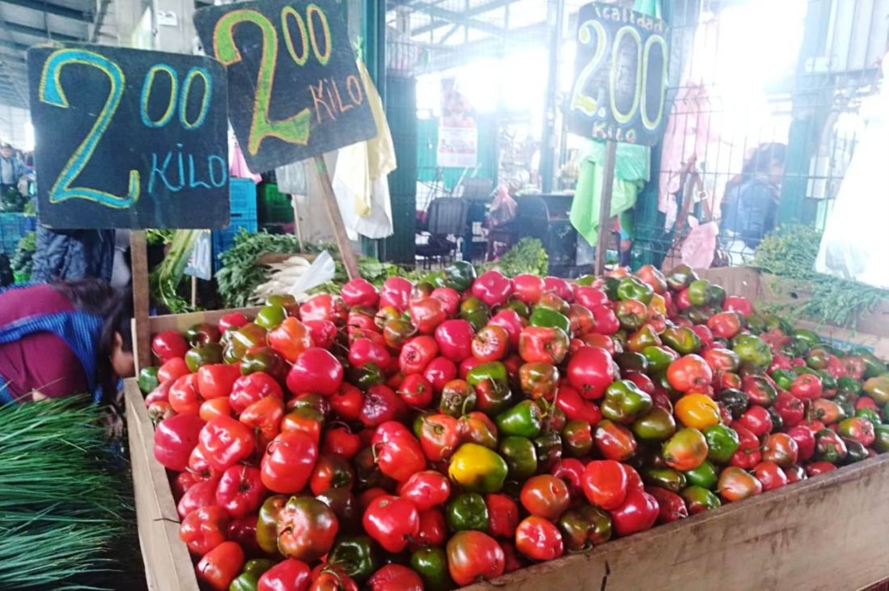 Precios en mercados. ANDINA/Difusión