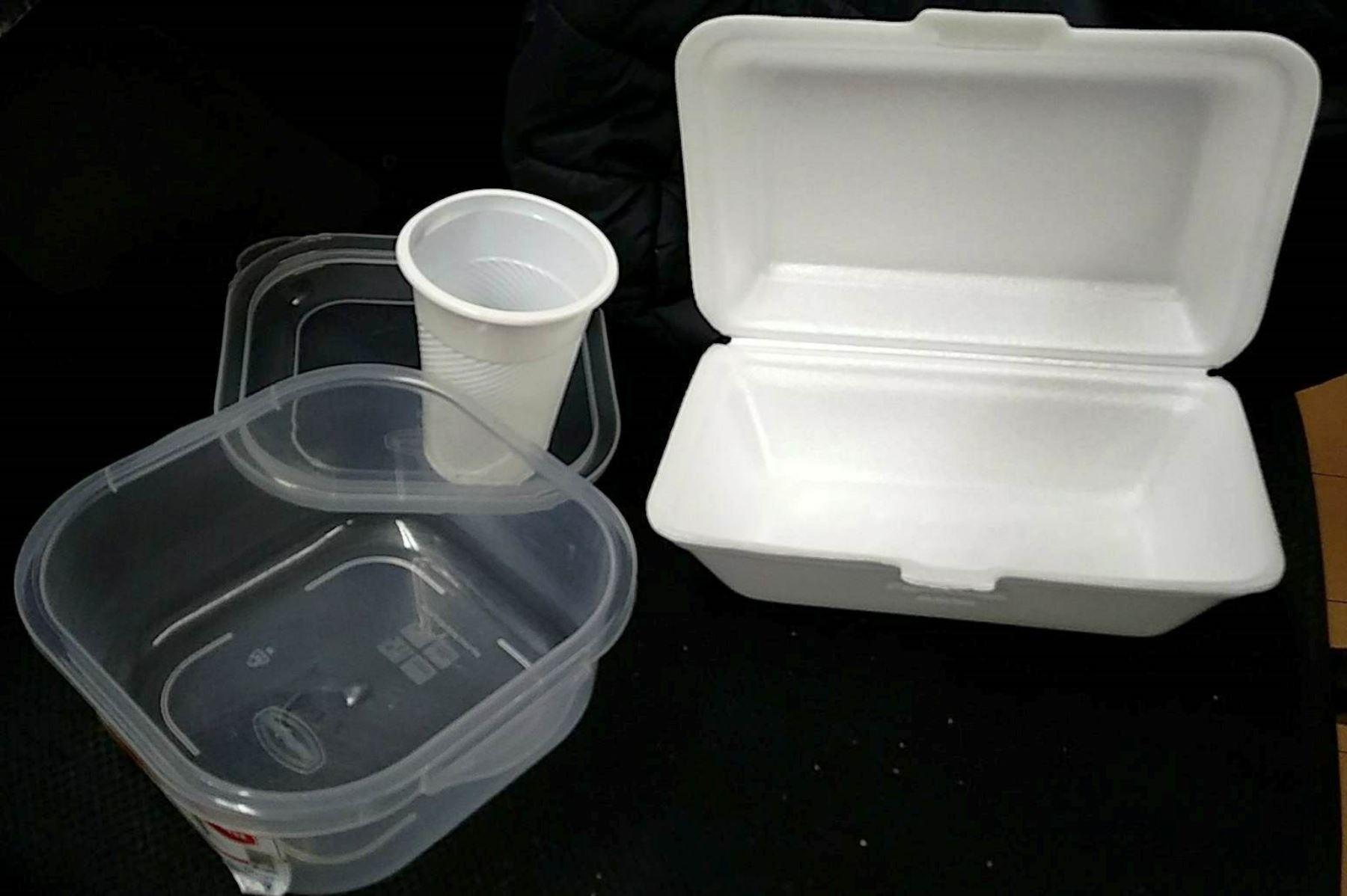 Consejo Regional de Junín prohíbe el uso de envases de plástico de un solo uso y tecnopor en la región. ANDINA/Difusión