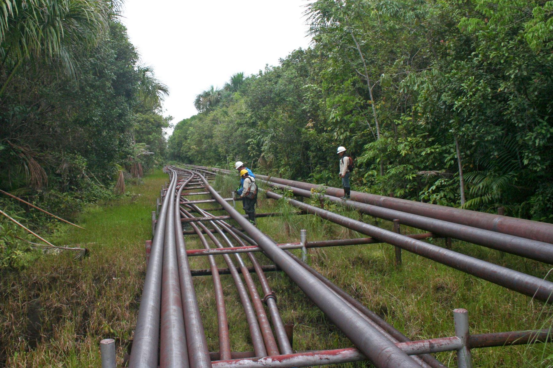 Petroperú contrató a una empresa especializada para retirar las manchas oleosas detectadas en el río Pastaza, a la altura del kilómetro 12 del Oleoducto Ramal Norte (ORN), cerca al distrito de Andoas, provincia Datem del Marañón, región Loreto. ANDINA/Difusión