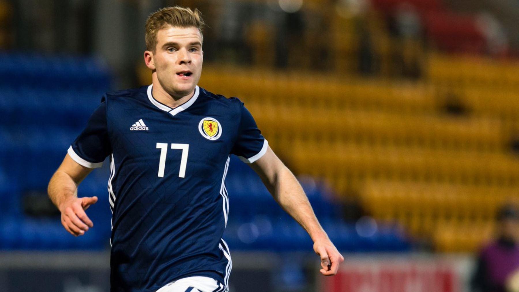 Chris Cadden es una de las piezas claves en la escuadra de Escocia