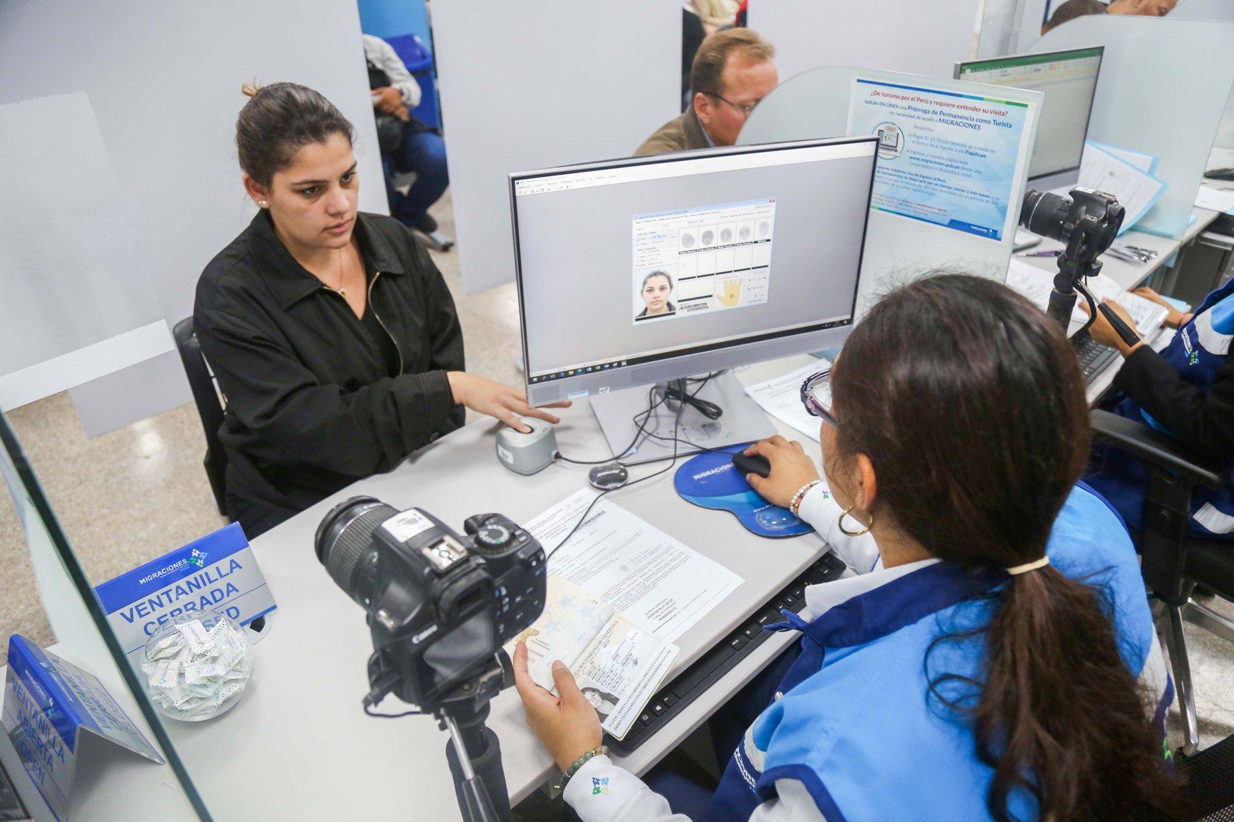 Migraciones inició atención las 24 horas a extranjeros en su sede central de Breña. Foto: ANDINA/Difusión.