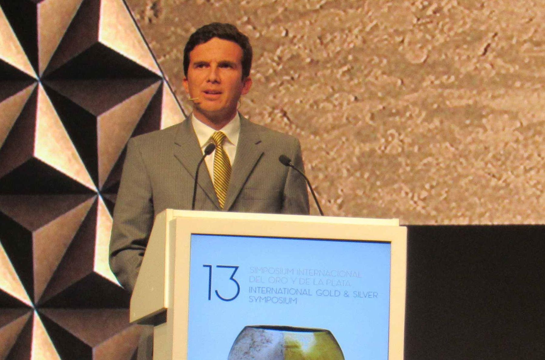 Viceministro de Minas, Luis Miguel Incháustegui. Foto: Cortesía.