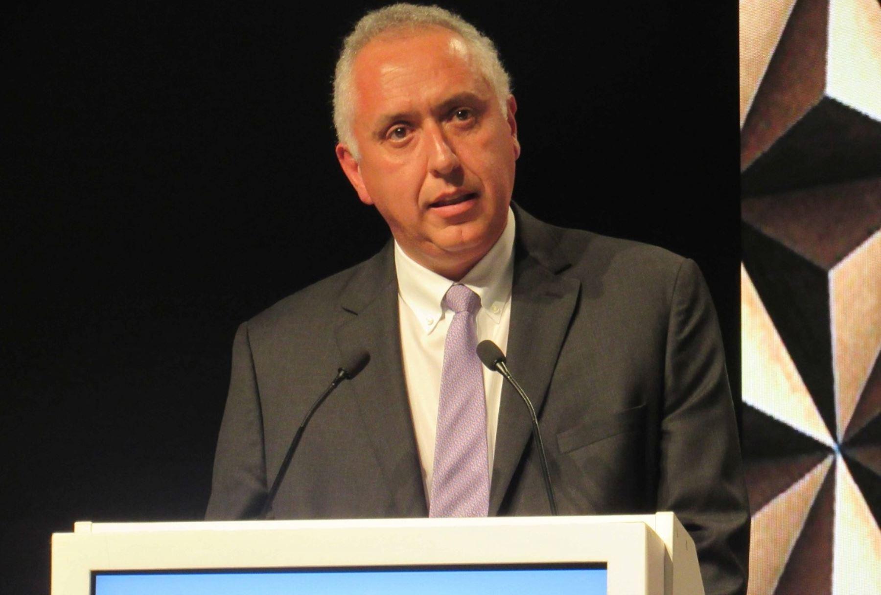 Presidente de la SNMPE, Luis Marchese. Foto: Cortesía.