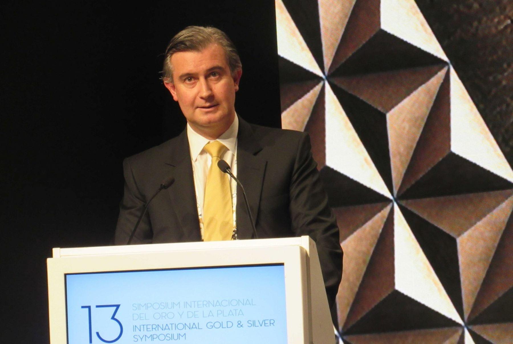 Presidente de la SNMPE, Manuel Fumagalli. Cortesía