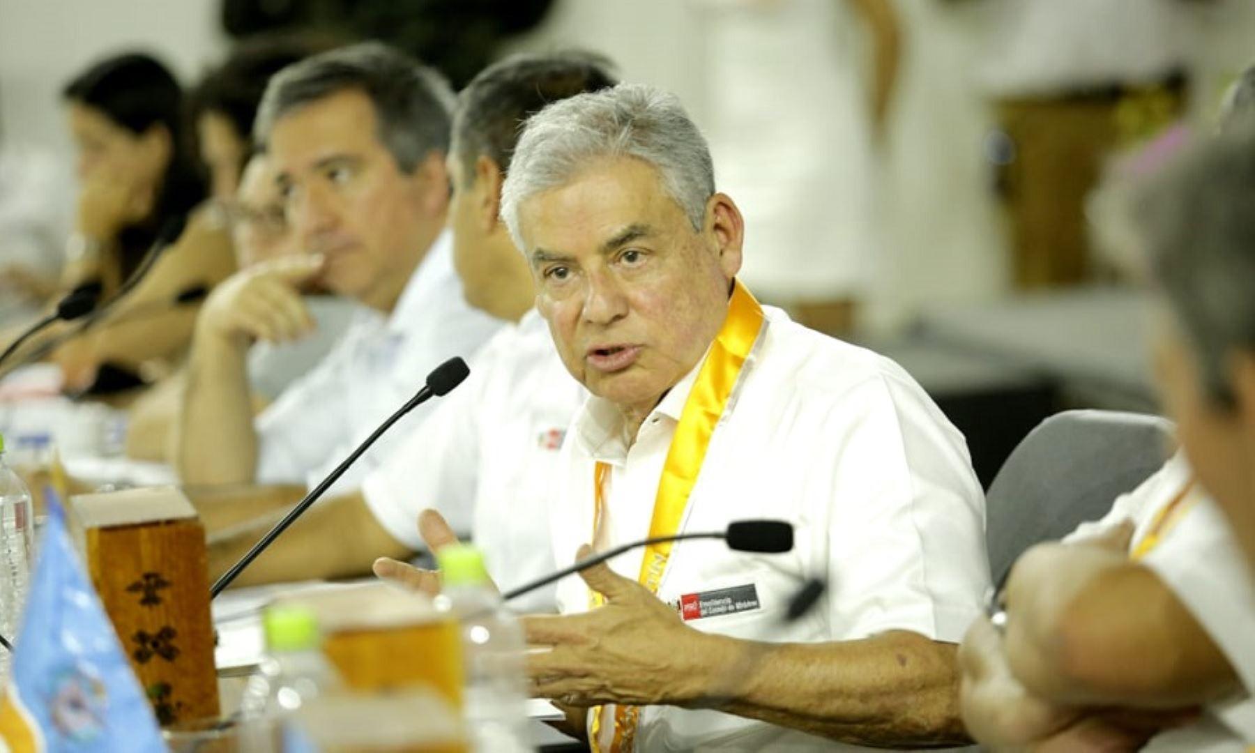 Jefe del Gabinete Ministerial, César Villanueva, lideró reunión de trabajo con mancomunidad regional del nor oriente.