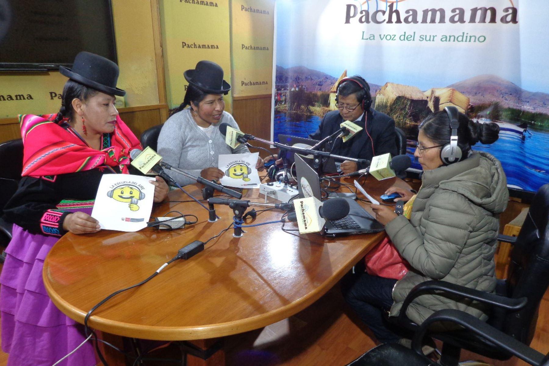 Ministerio de Educación inicia emisión de programa educativo radial en lenguas originarias. ANDINA/Difusión