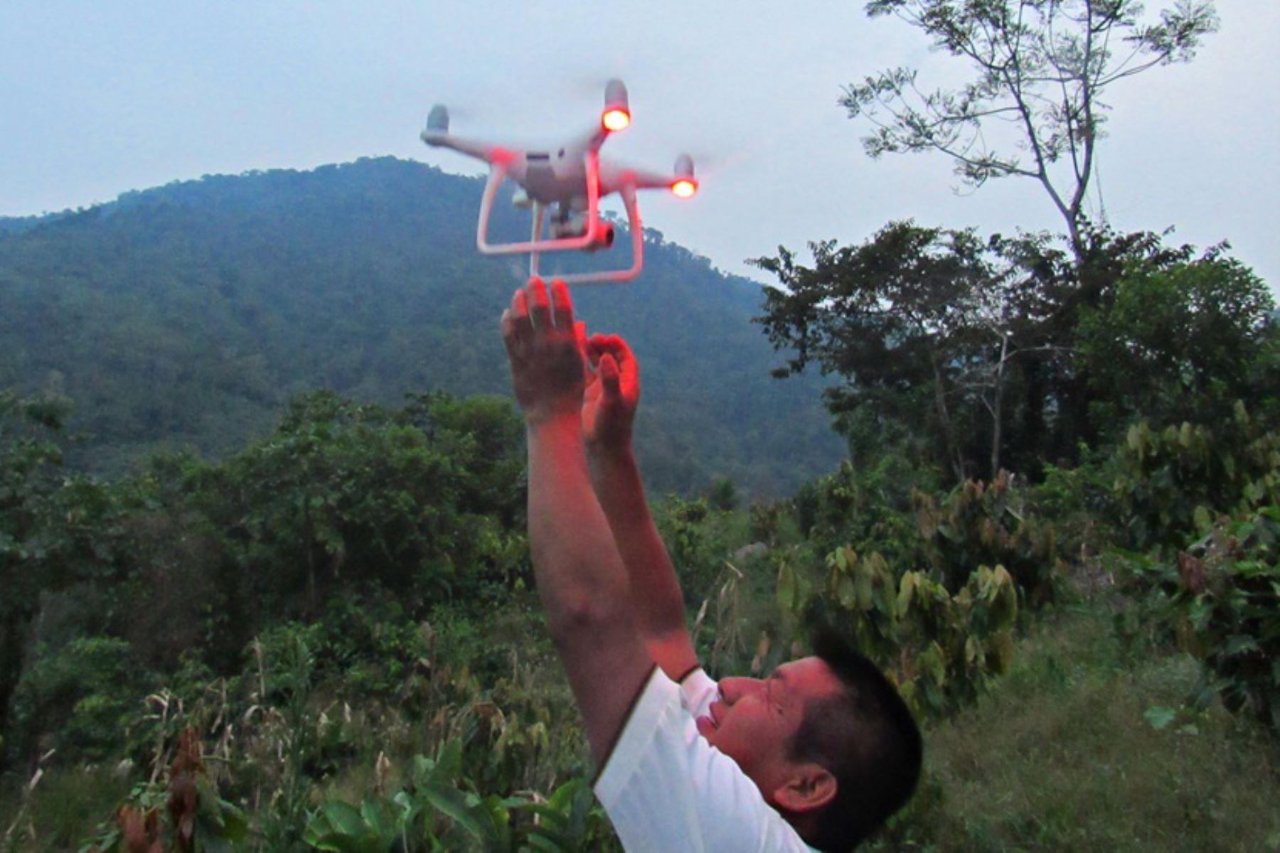 San Martín empleará tecnología para luchar contra la deforestación. ANDINA/Difusión
