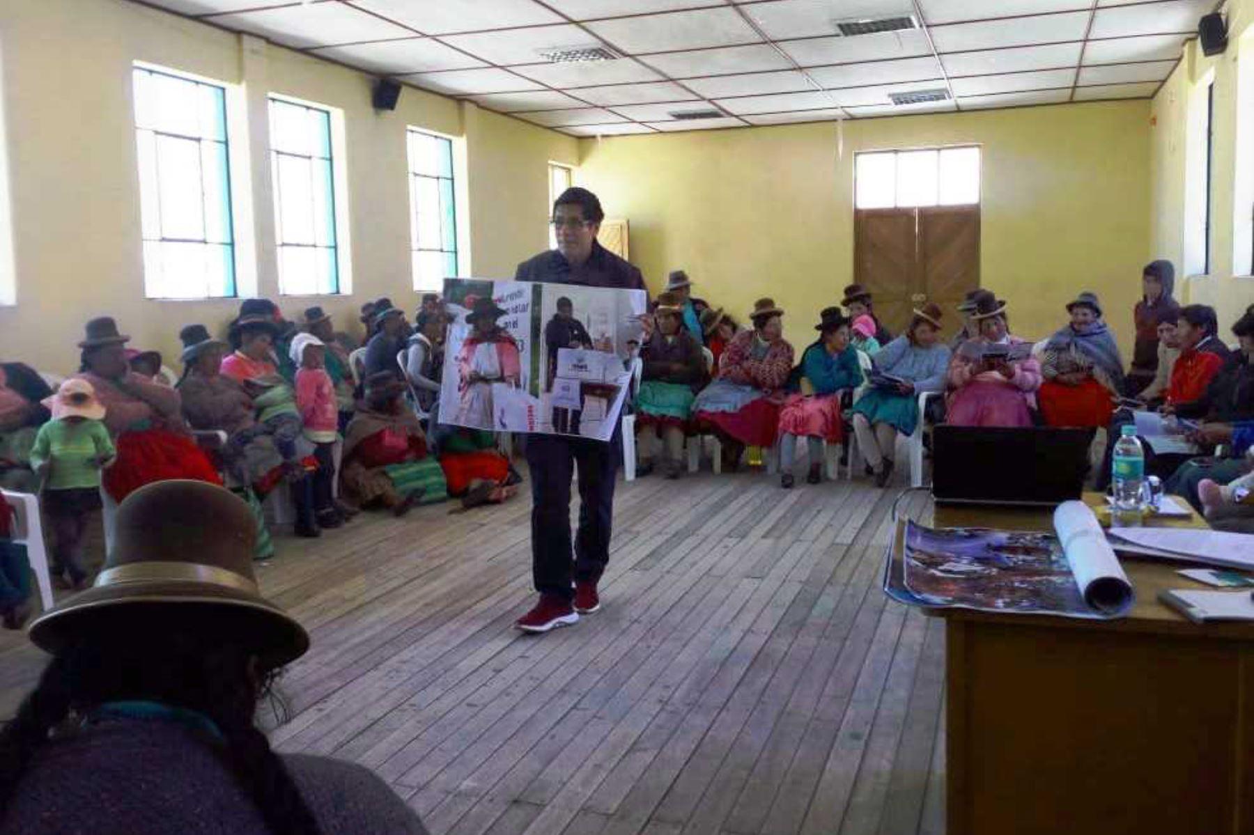 Onpe realiza talleres de educaci n electoral en centros poblados del pa s noticias agencia - Oficina de extranjeria avenida de los poblados ...