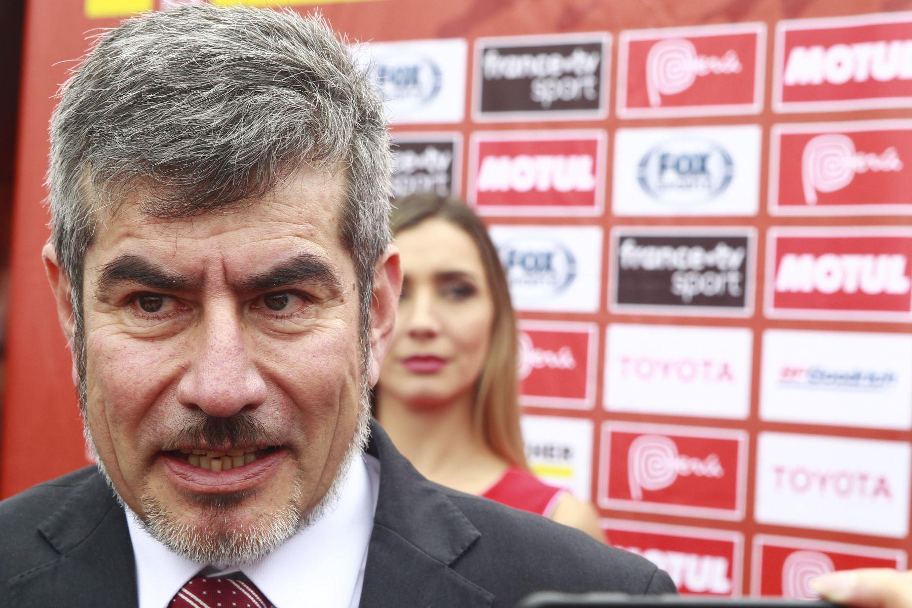 Ministro de Comercio Exterior y Turismo, Rogers Valencia. ANDINA/Eddy Ramos
