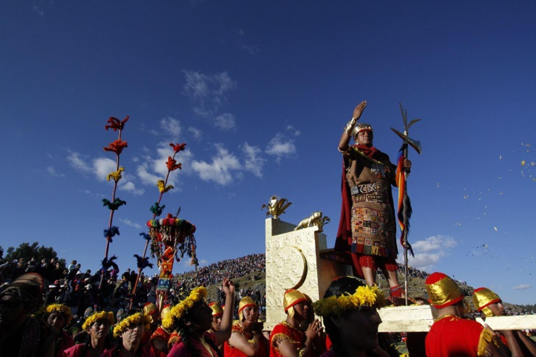 Inti Raymi, desfiles y ceremonias entre las principales actividades festivas de Cusco que no te puedes perder. ANDINA/Percy Hurtado