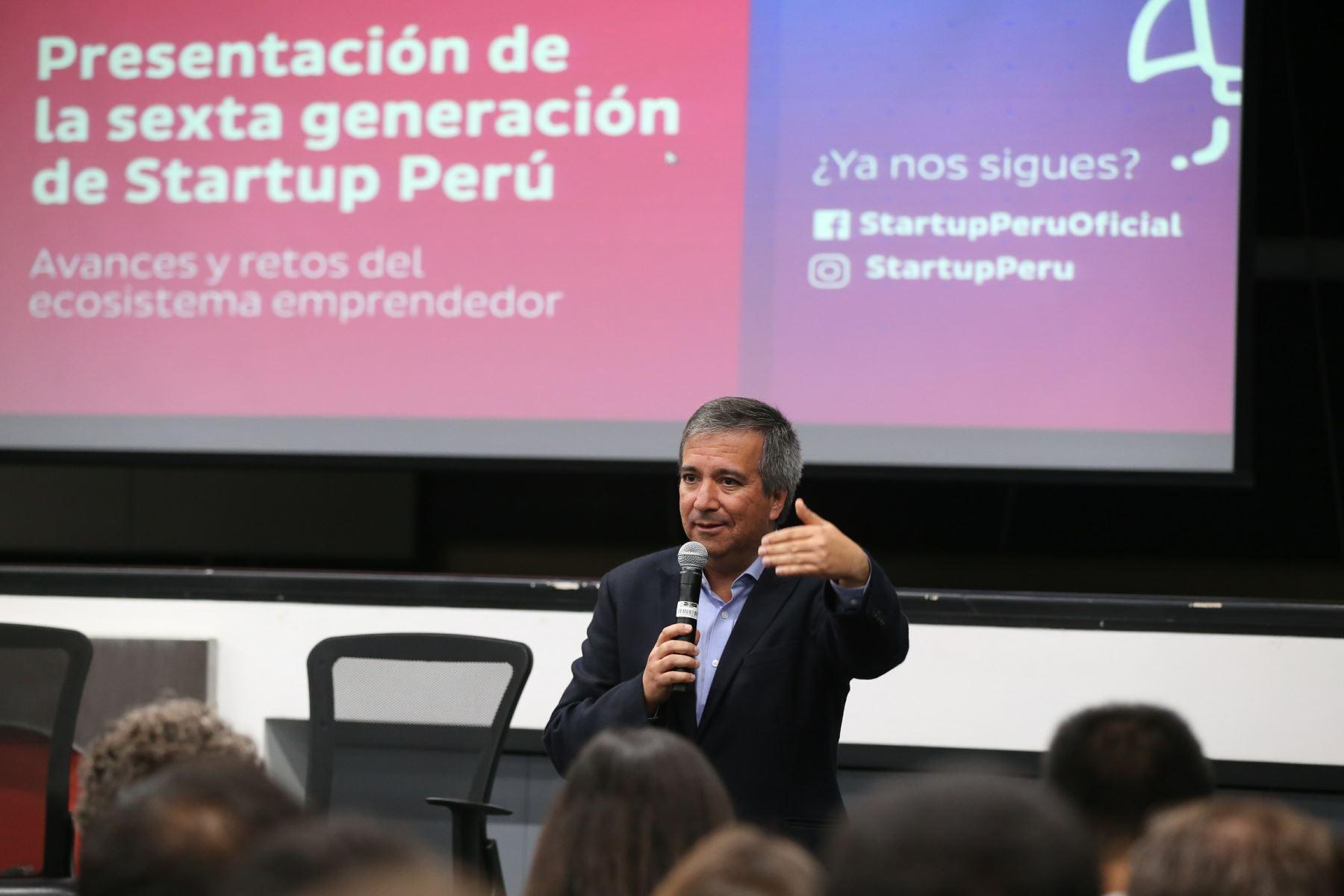 Ministro de la Producción, Raúl Pérez-Reyes. ANDINA/Dante Zegarra