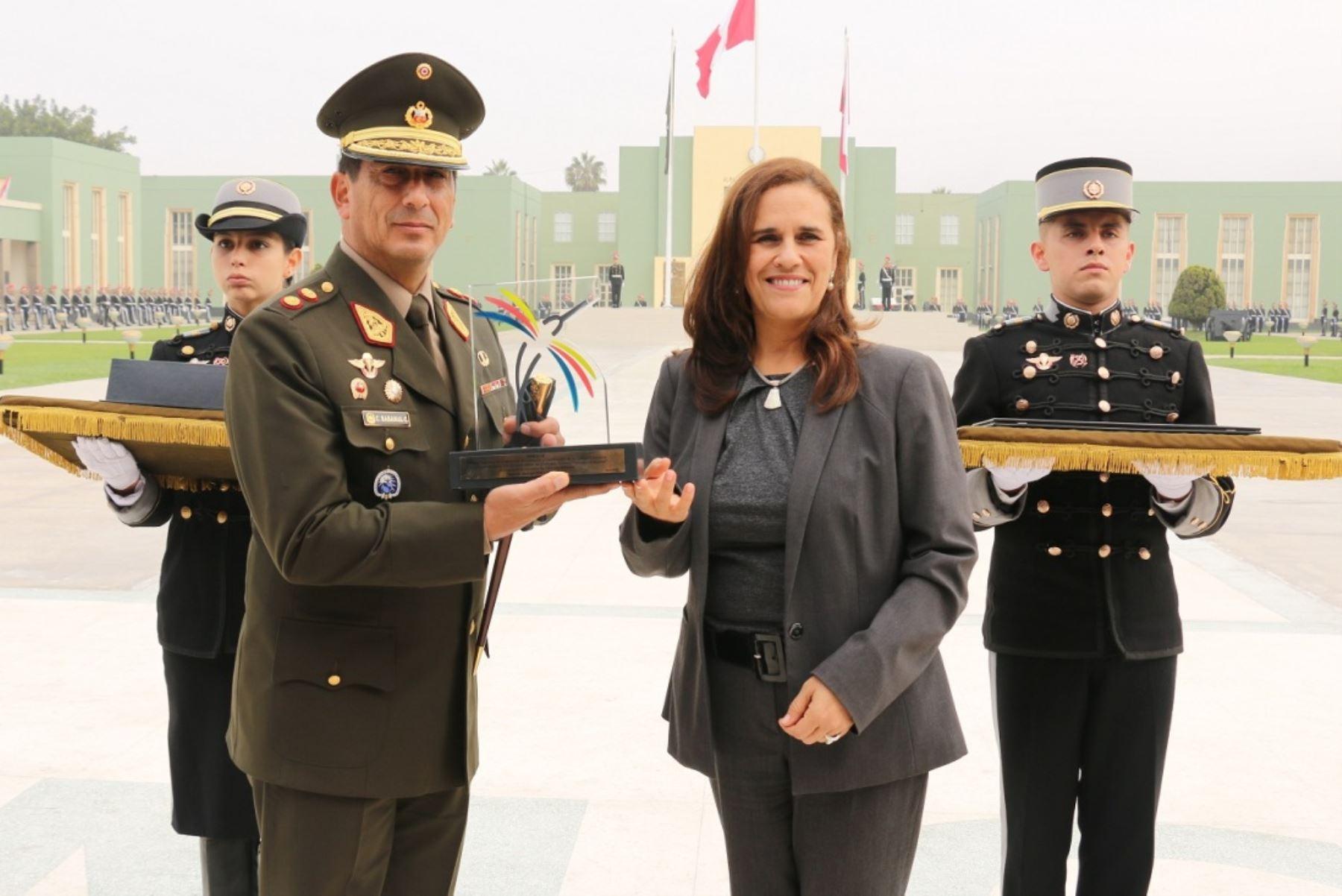 Escuela Militar de Chorrillos logra obtener el Sello de Calidad Educativa del Sineace. Foto: ANDINA/Difusión.