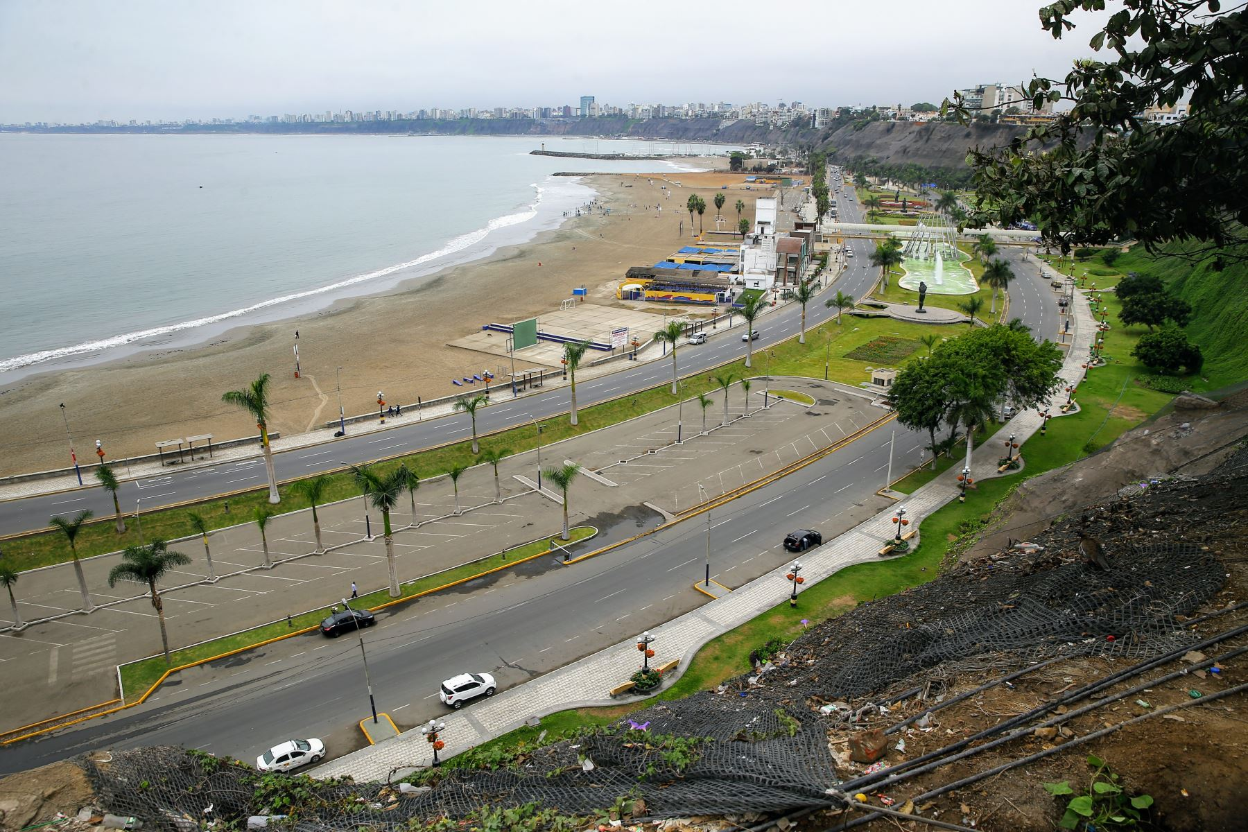 Costa Verde. Foto: ANDINA/Luis Iparraguirre