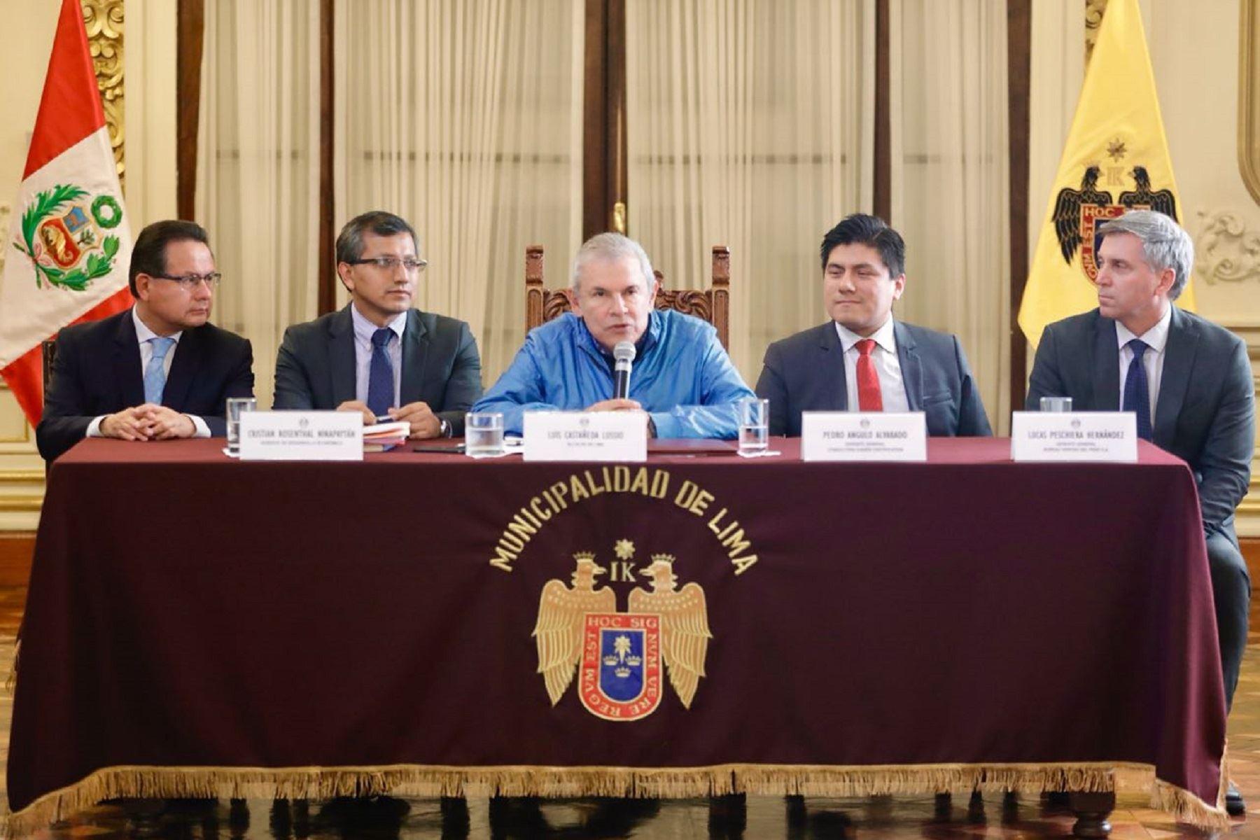 Municialidad de Lima obtiene certificación ISO 9001 Foto: Municipalidad de Lima