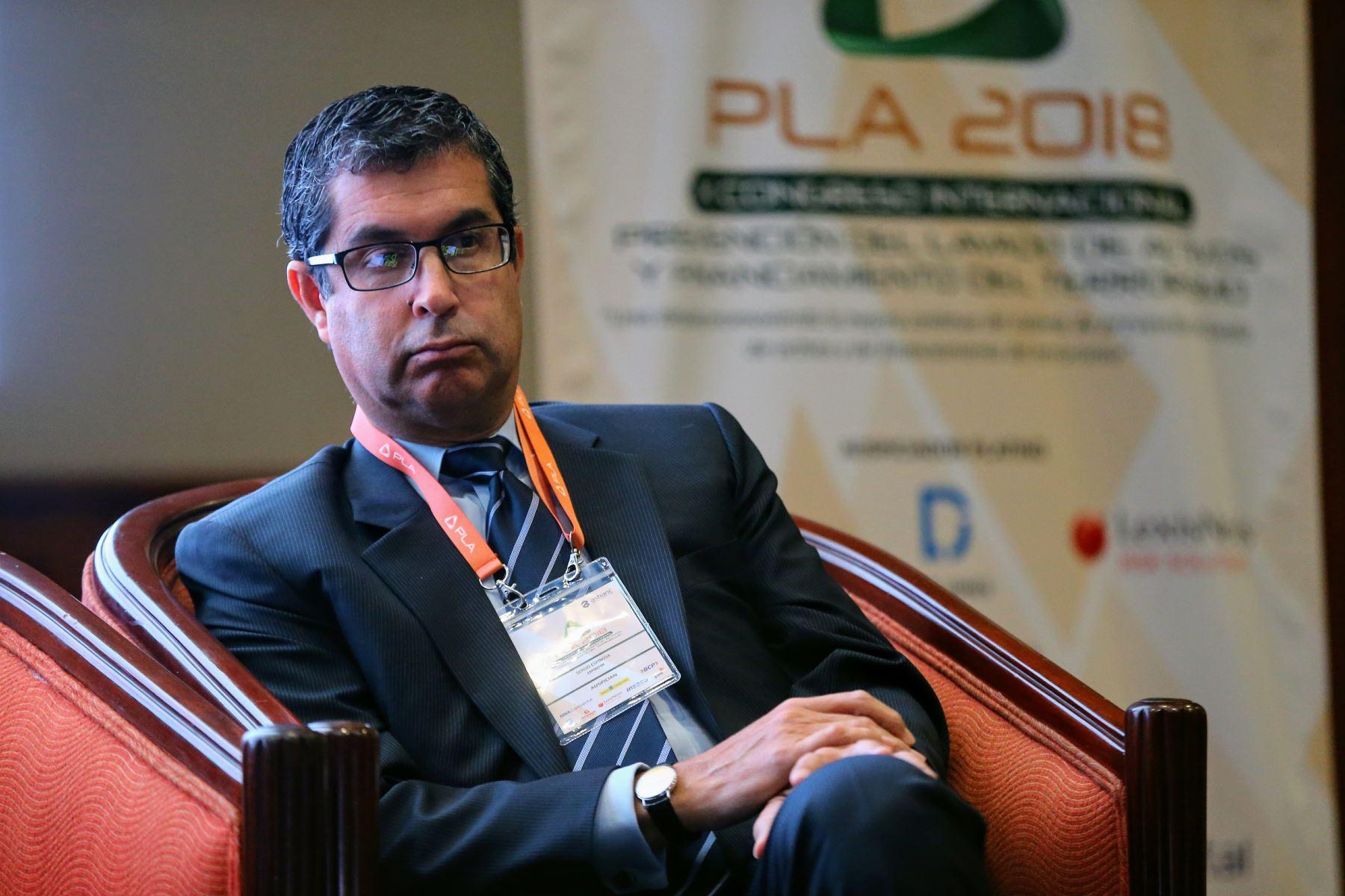 jefe de la Unidad de Inteligencia Financiera (UIF) de la Superintendencia de Banca, Seguros y AFP (SBS). Foto: ANDINA/Luis Iparraguirre
