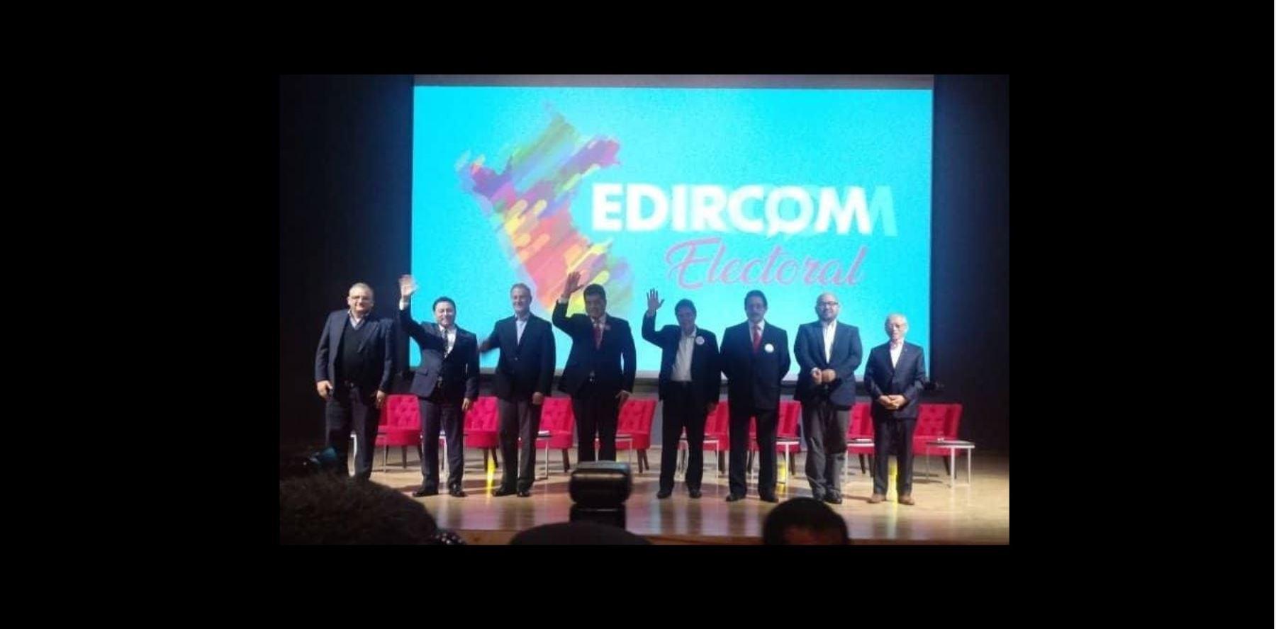 candidatos a la alcaldía de Lima presentan sus propuestas en seguridad ciudadana y transporte.
