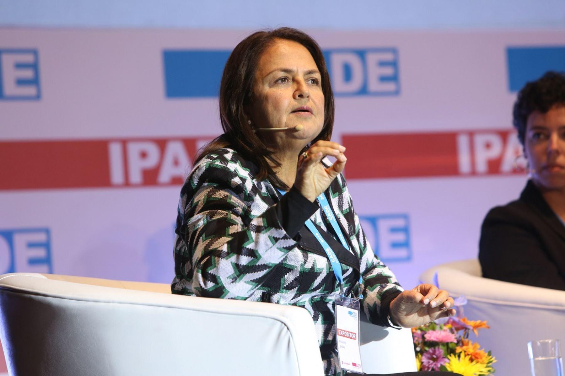 Fundadora y gerente general de agroexportadora DANPER, Rosario Bazán. Foto: Cortesía.