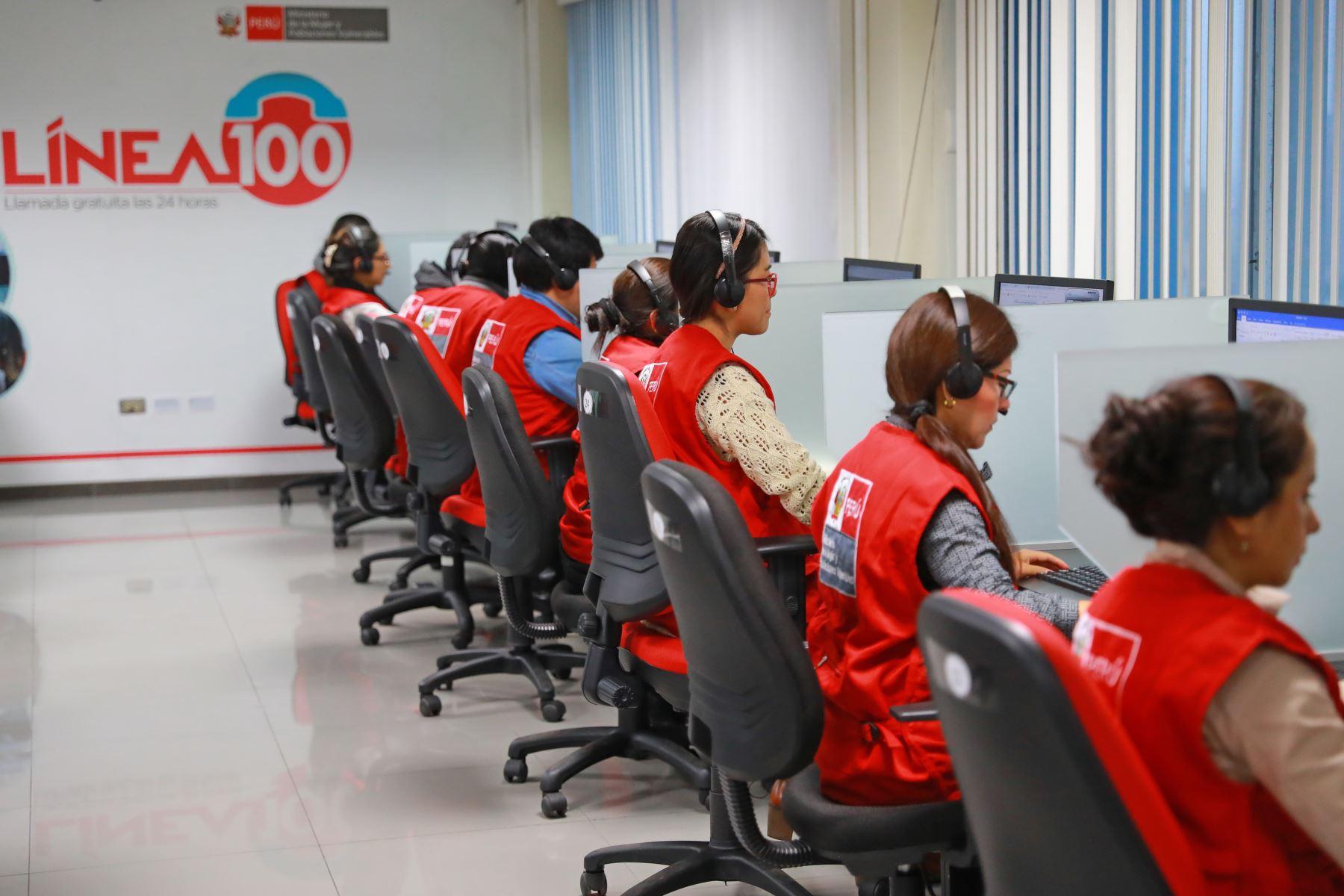 Línea 100 y Centros Emergencia Mujer atenderán durante Fiestas ...
