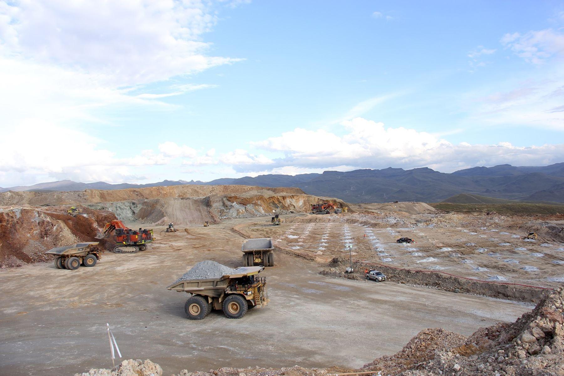 Minería en el Perú.