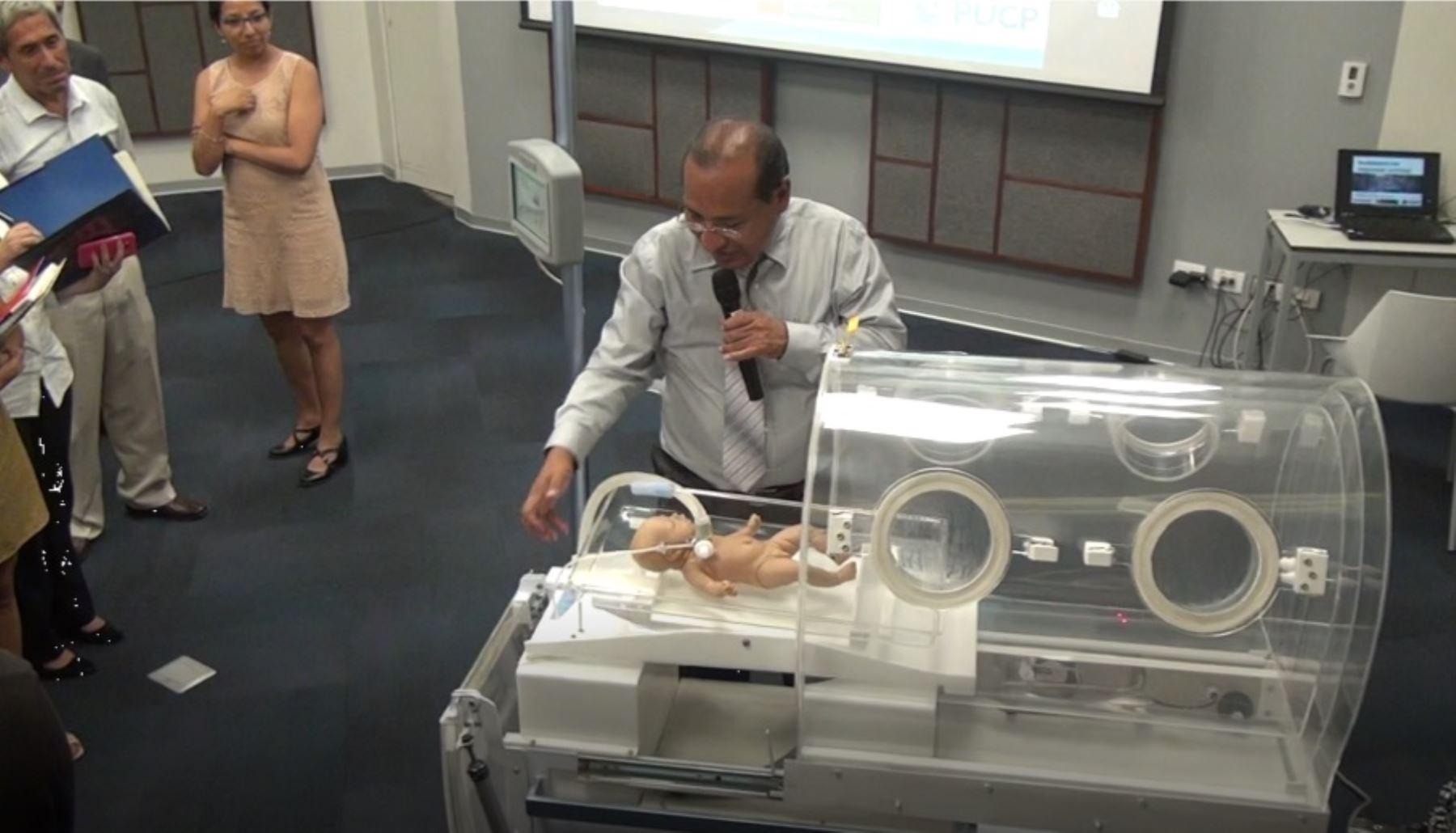 Equipo de última tecnología contribuirá a salvar la vida de recién nacidos de alto riesgo en las zonas más alejadas del país. Foto: Difusión