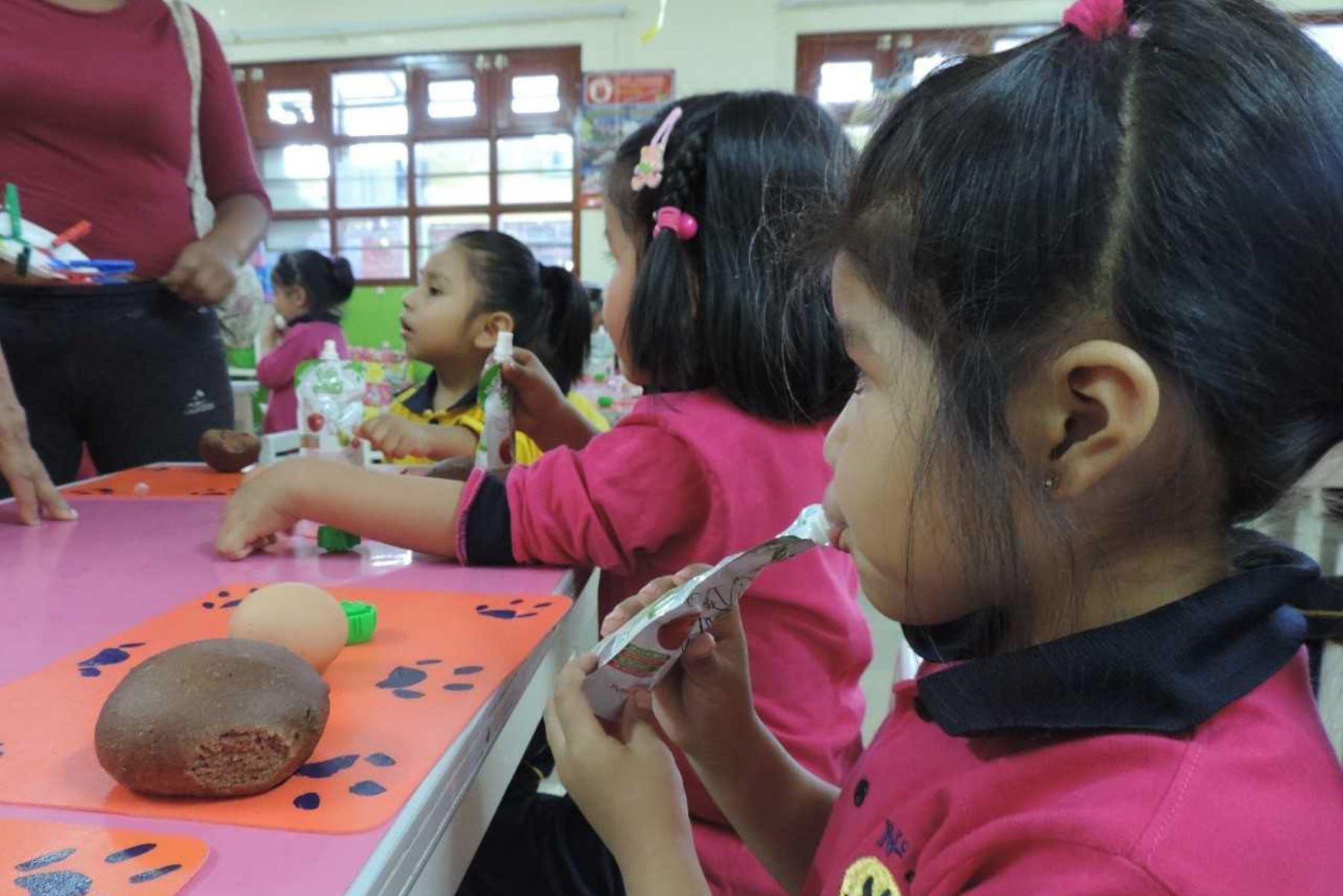 El Ministerio de Desarrollo e Inclusión Social (Midis), a través del Programa Nacional de Alimentación Escolar Qali Warma, incluyó el pan fortificado con sangrecita en los desayunos escolares, de la modalidad raciones, que se distribuyen en Ilo y Moquegua.