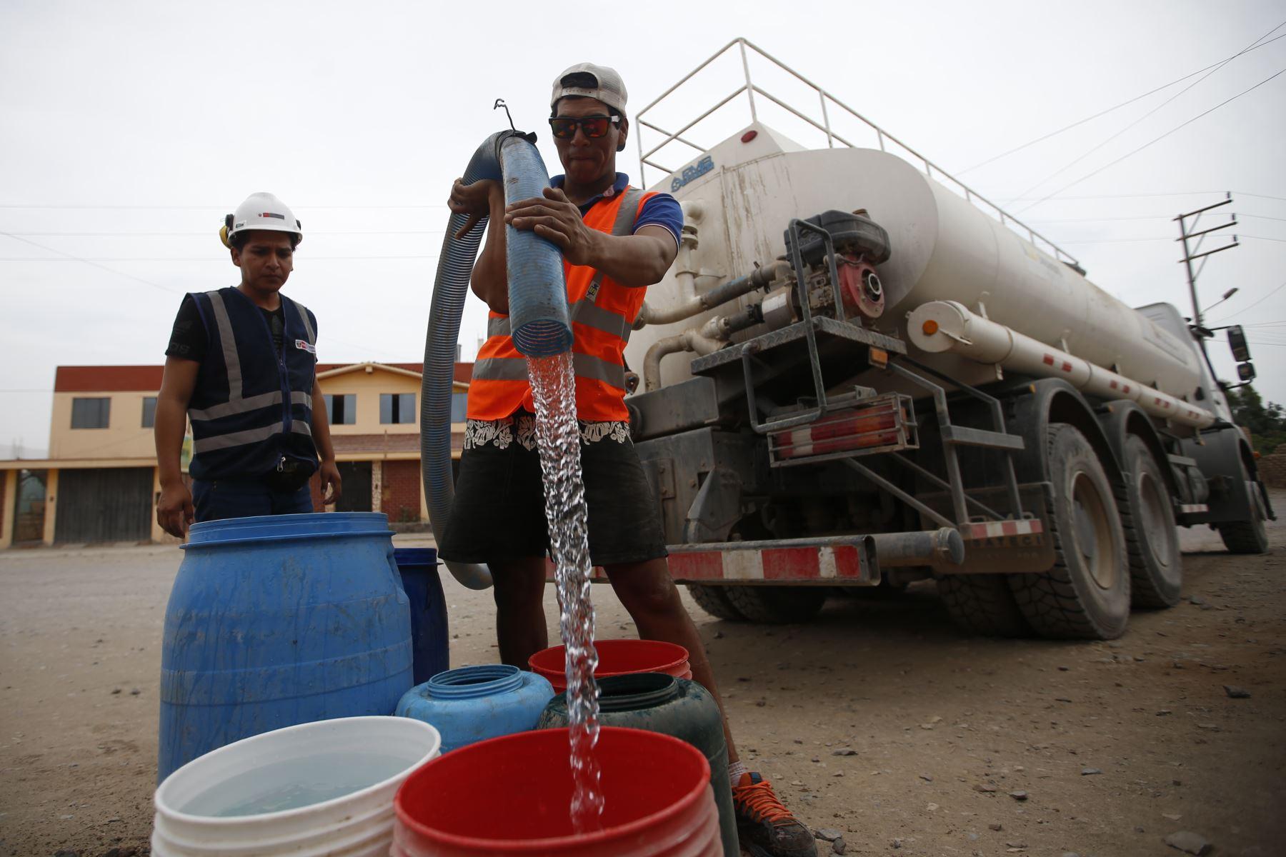 Prorrogan el estado de emergencia en distrito de Mórrope, en Lambayeque, afectado por la contaminación de agua. ANDINA/Difusión