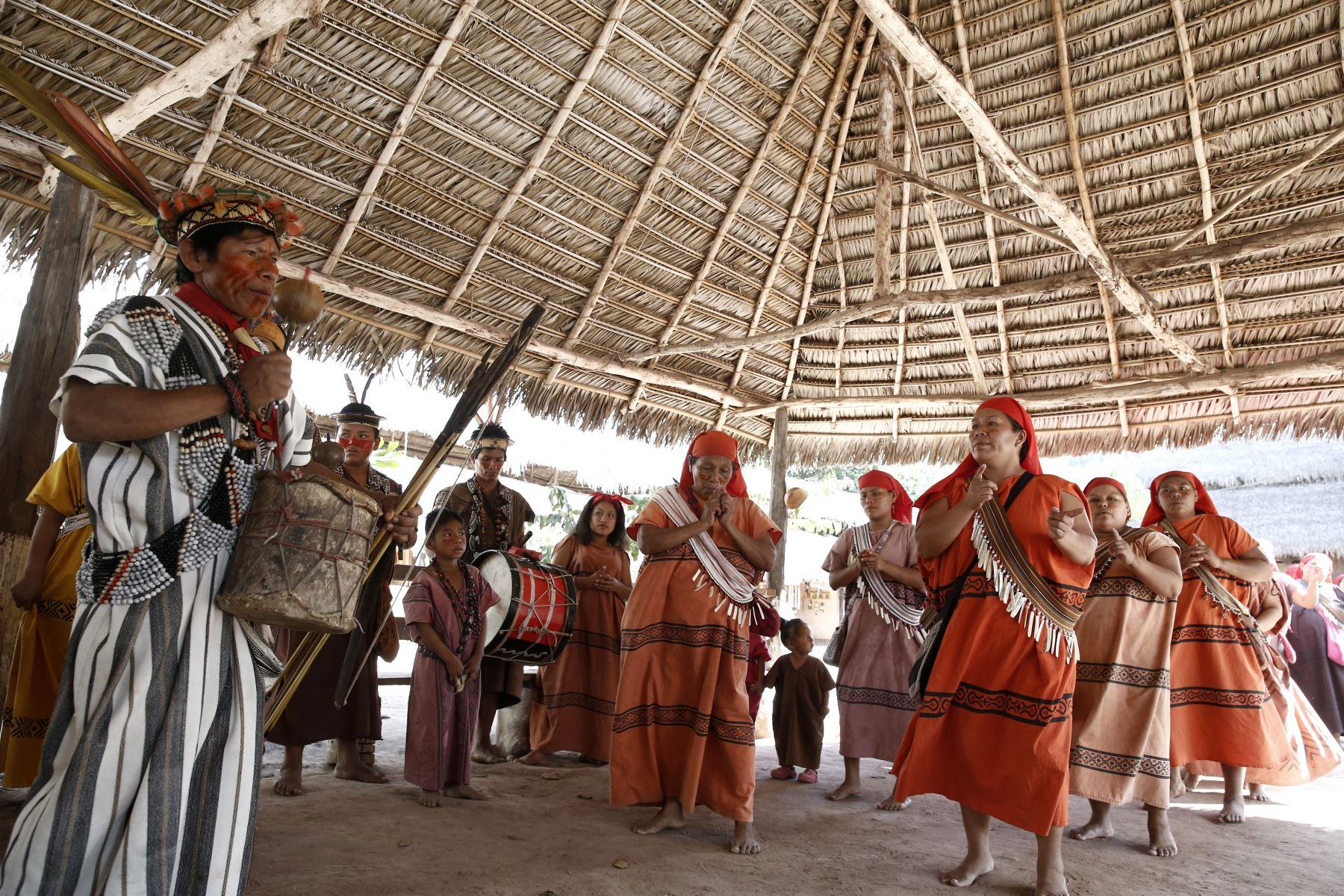Comunidad ashaninka de Pampa Michi. Foto: ANDINA/Melina Mejía